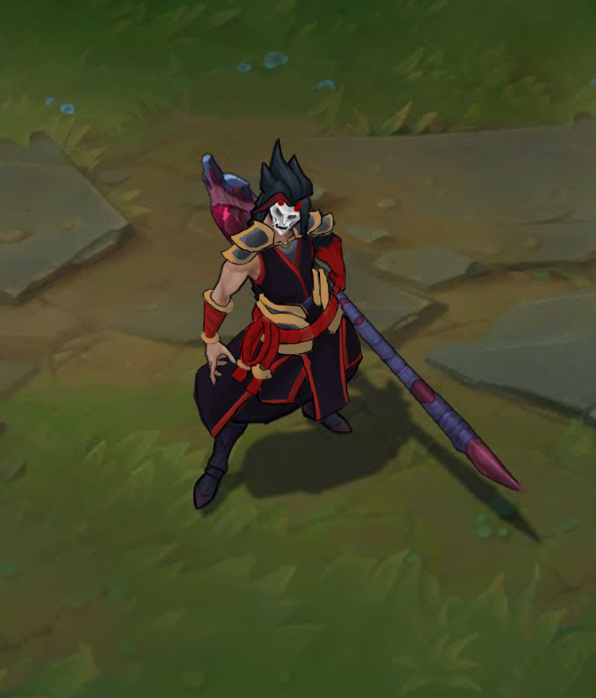 Riot Creative Contest 2017 Character Art Blood Moon Kayn Polycount