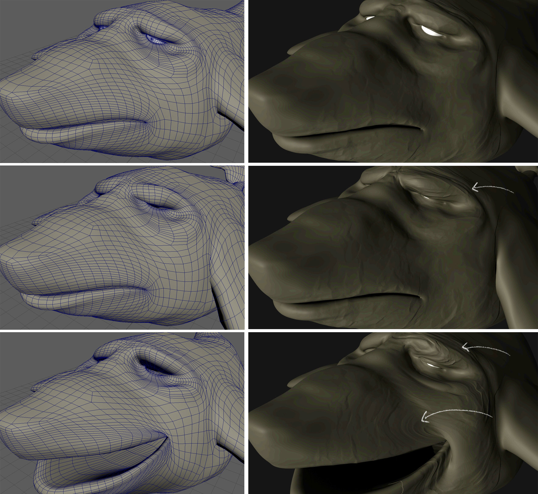 Displacement From ZBrush to Arnold (Maya) gets twirly when