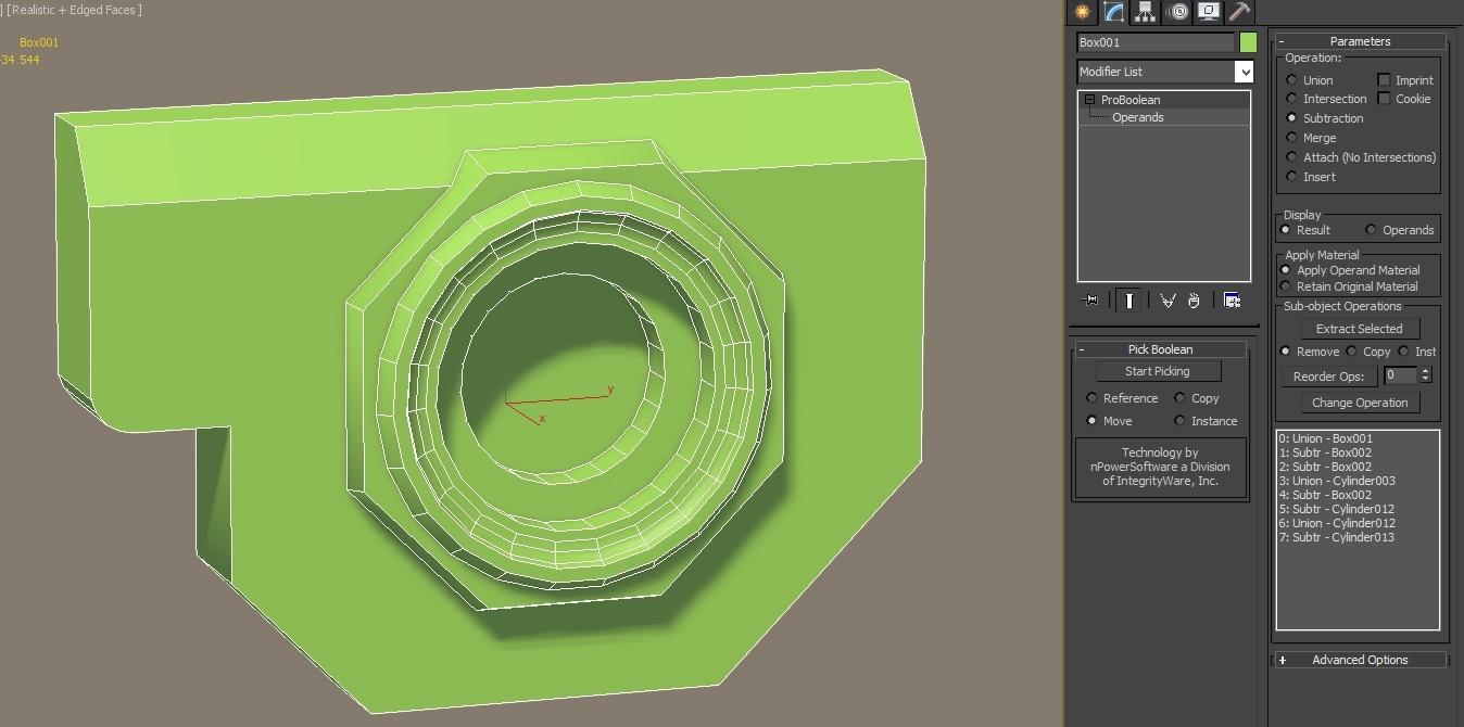 3ds Max/Zbrush: Proboolean + Dynamesh hardsurface workflow