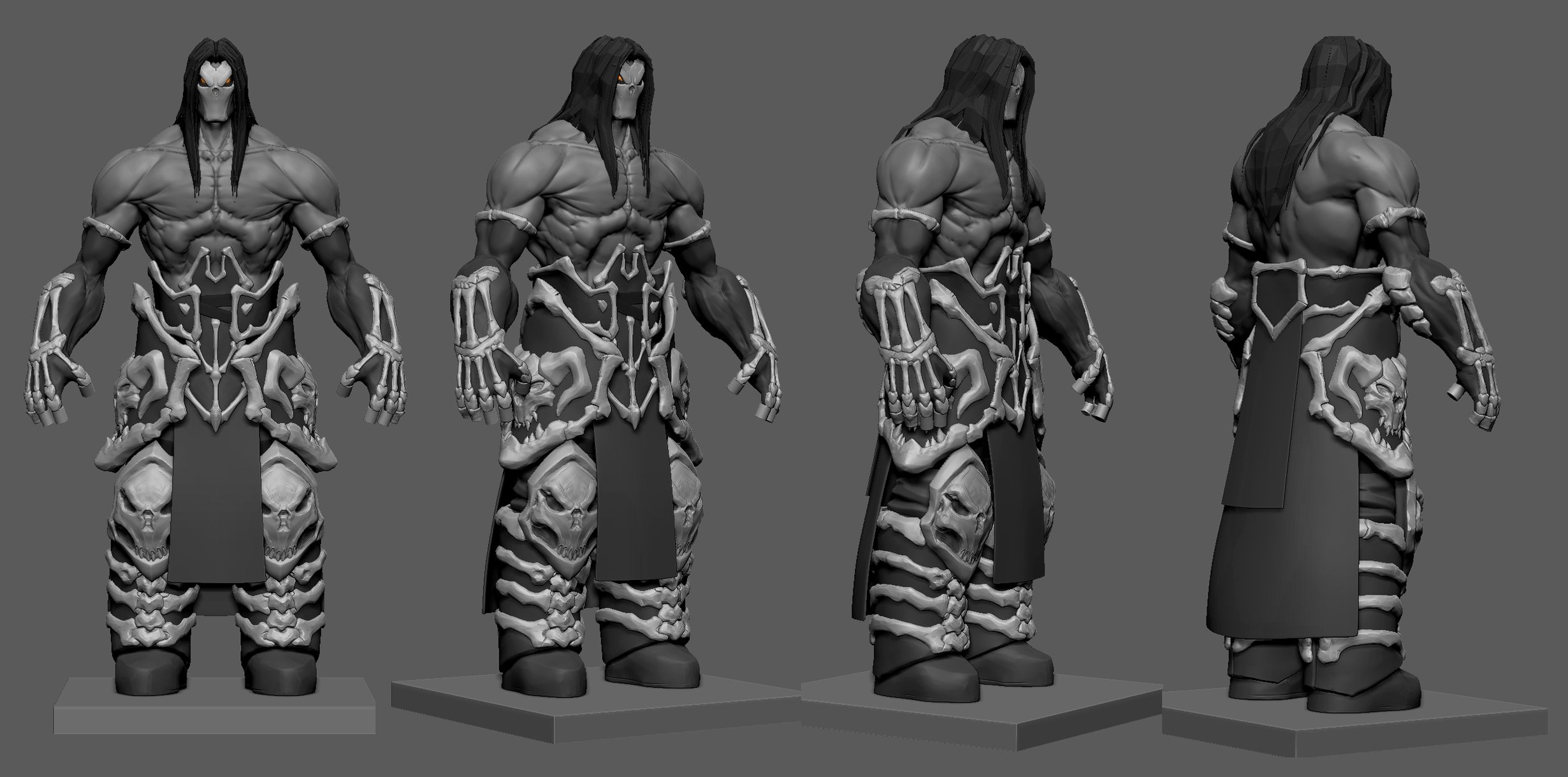 Death Darksiders Concept Art