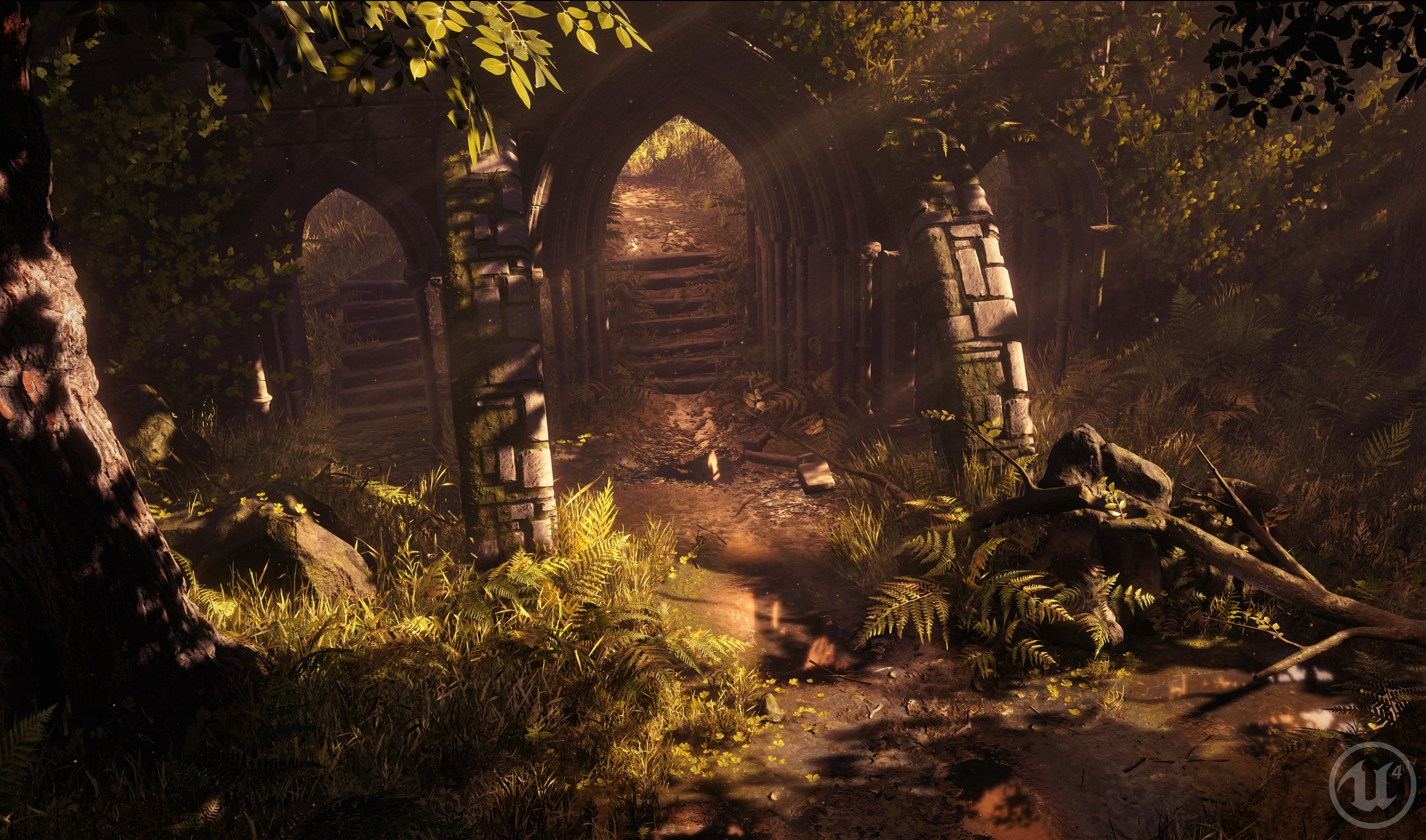 UE4] Environment: Enchanted Forest — polycount
