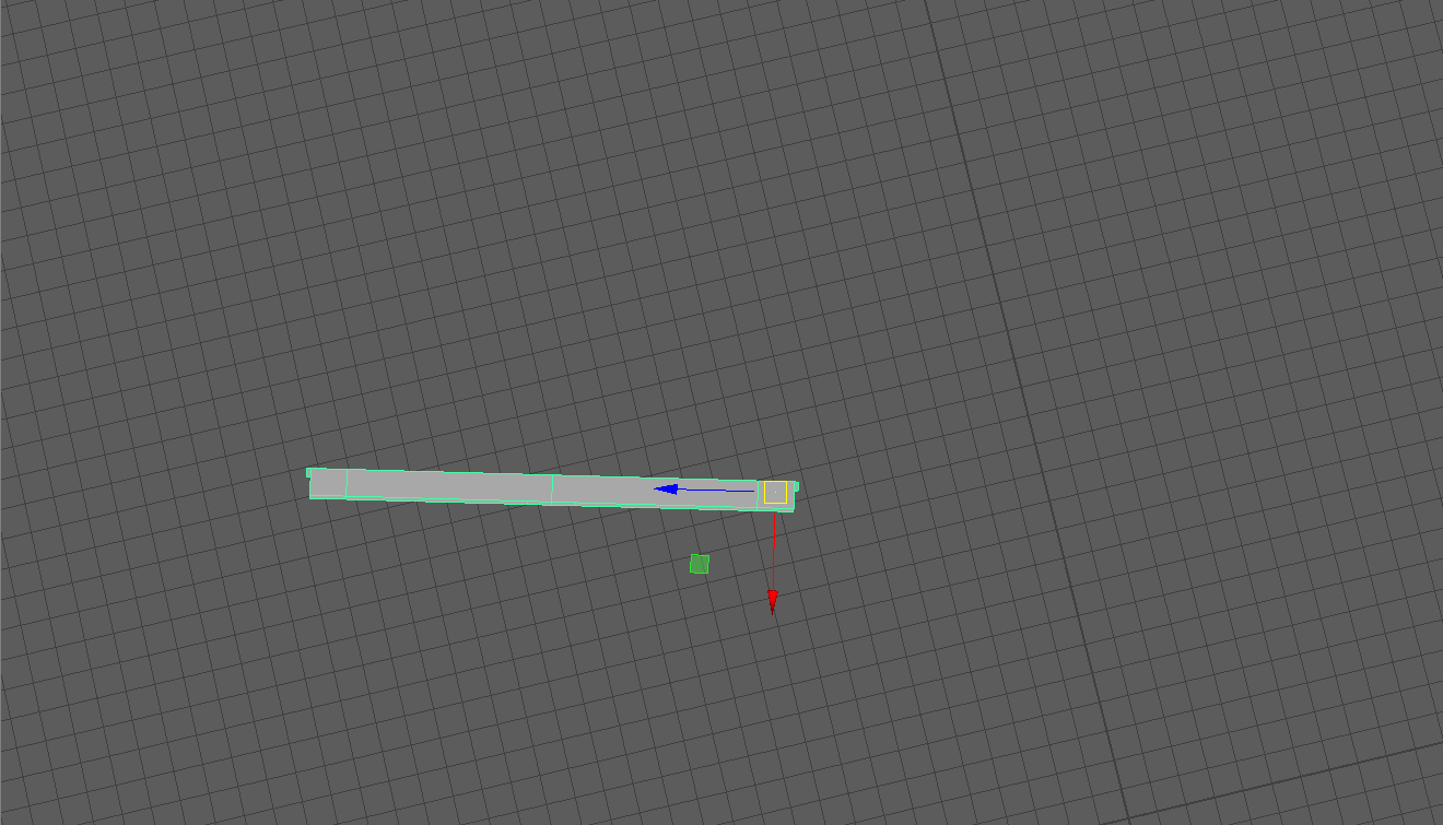 Maya] Problem with pivot, Component axis orientation mode