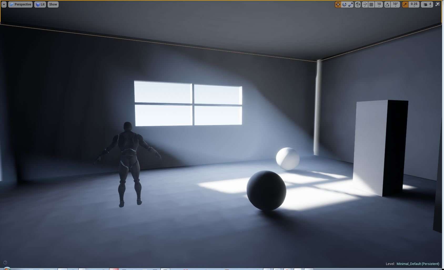 Problem with volumetric fog from a stationary directional