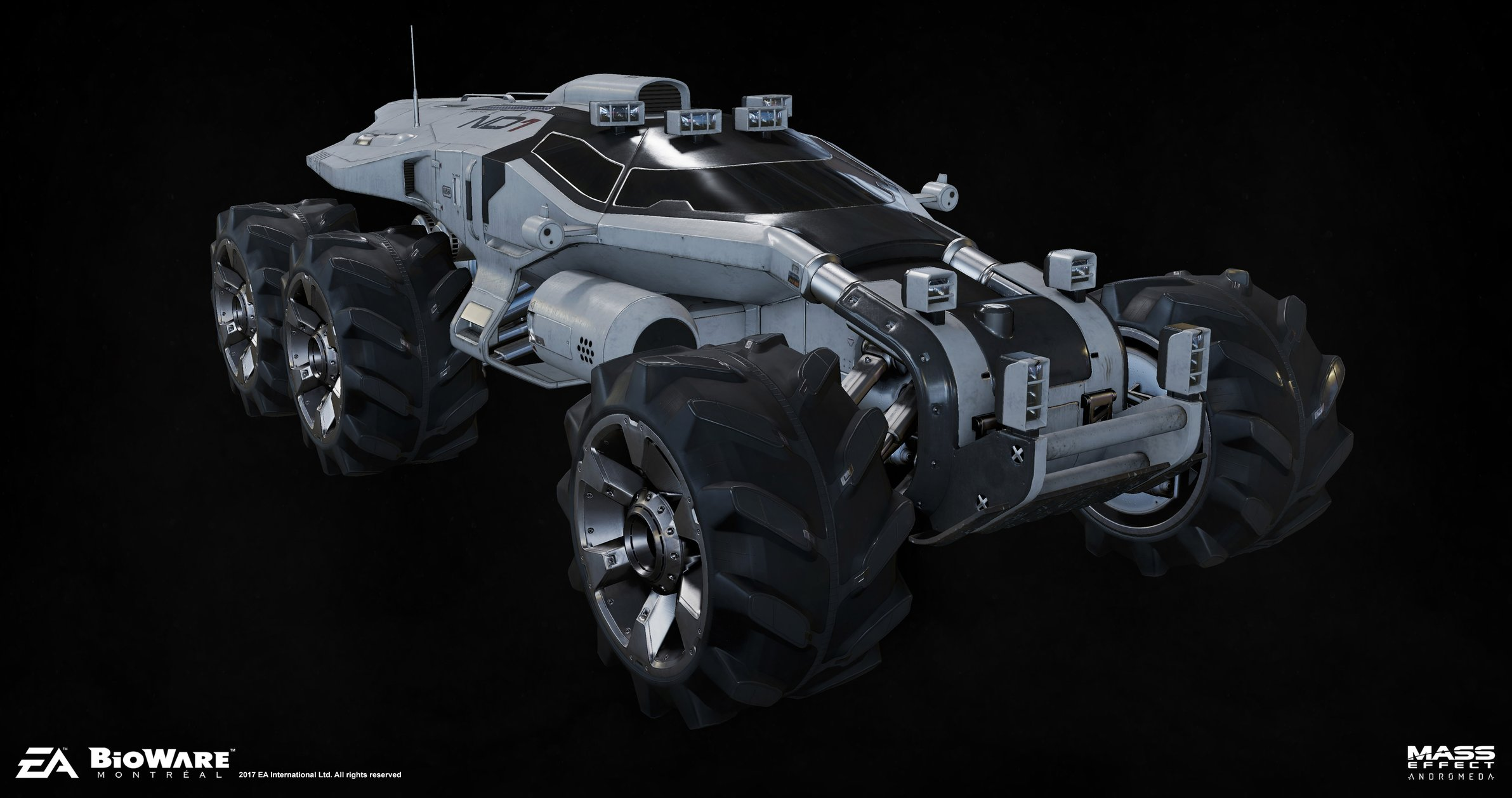 Mass Effect Andromeda--- Character Art Dump — polycount