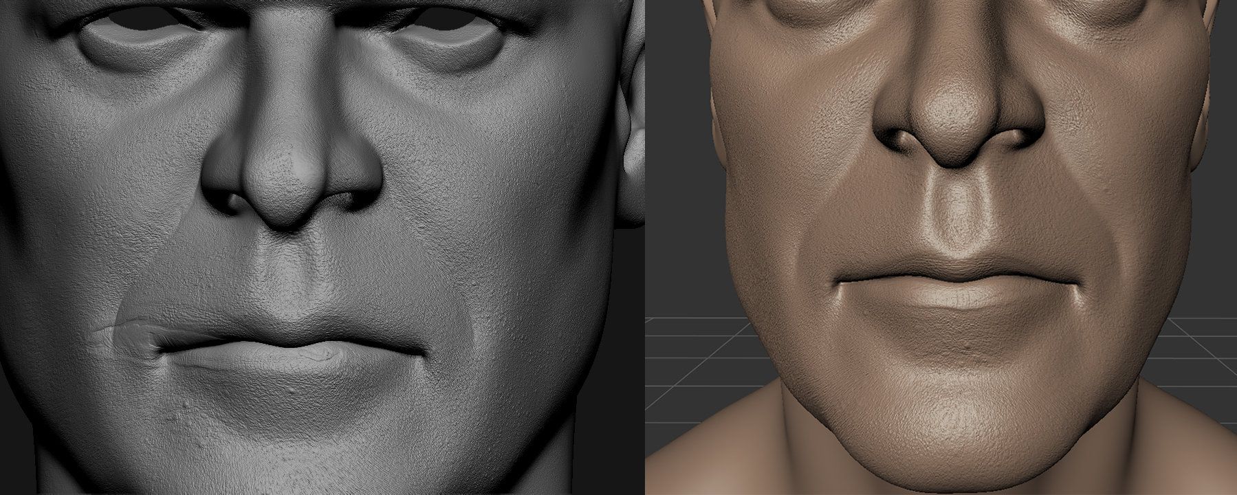 Zbrush-imported texture map is offset (resolved) — polycount