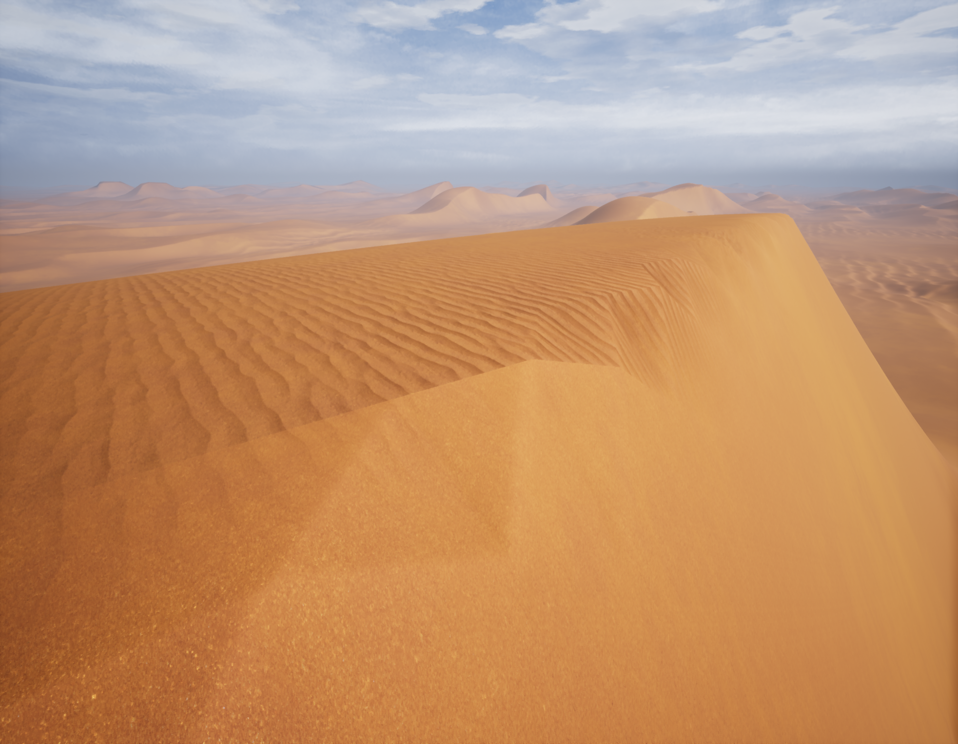 Dune Desert Project [UE4] — polycount