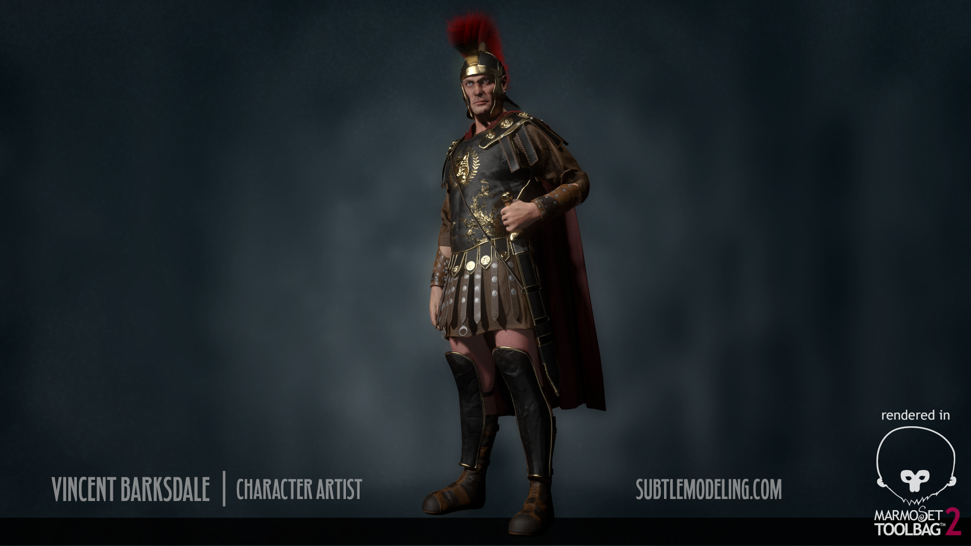 Roman Soldier Polycount