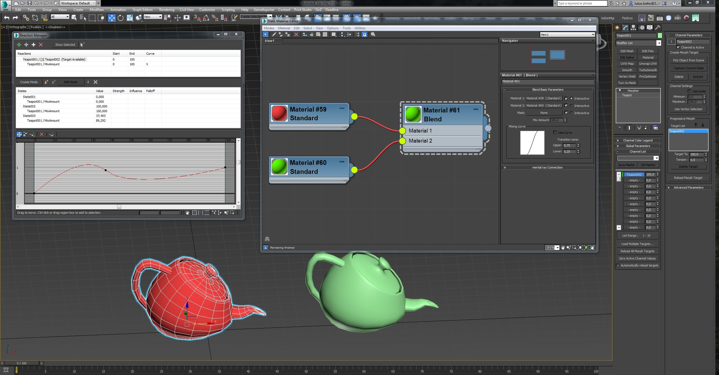 Morpher in 3ds max problem — polycount