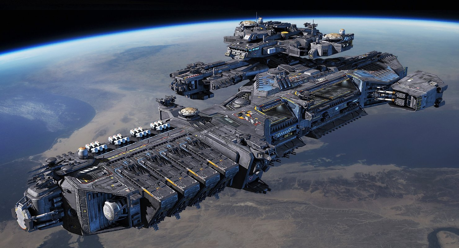 Space Ships fleet — ...