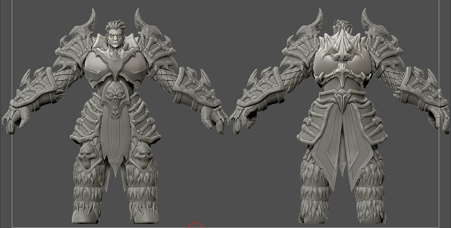 Bone Warrior - Game Ready Character — polycount