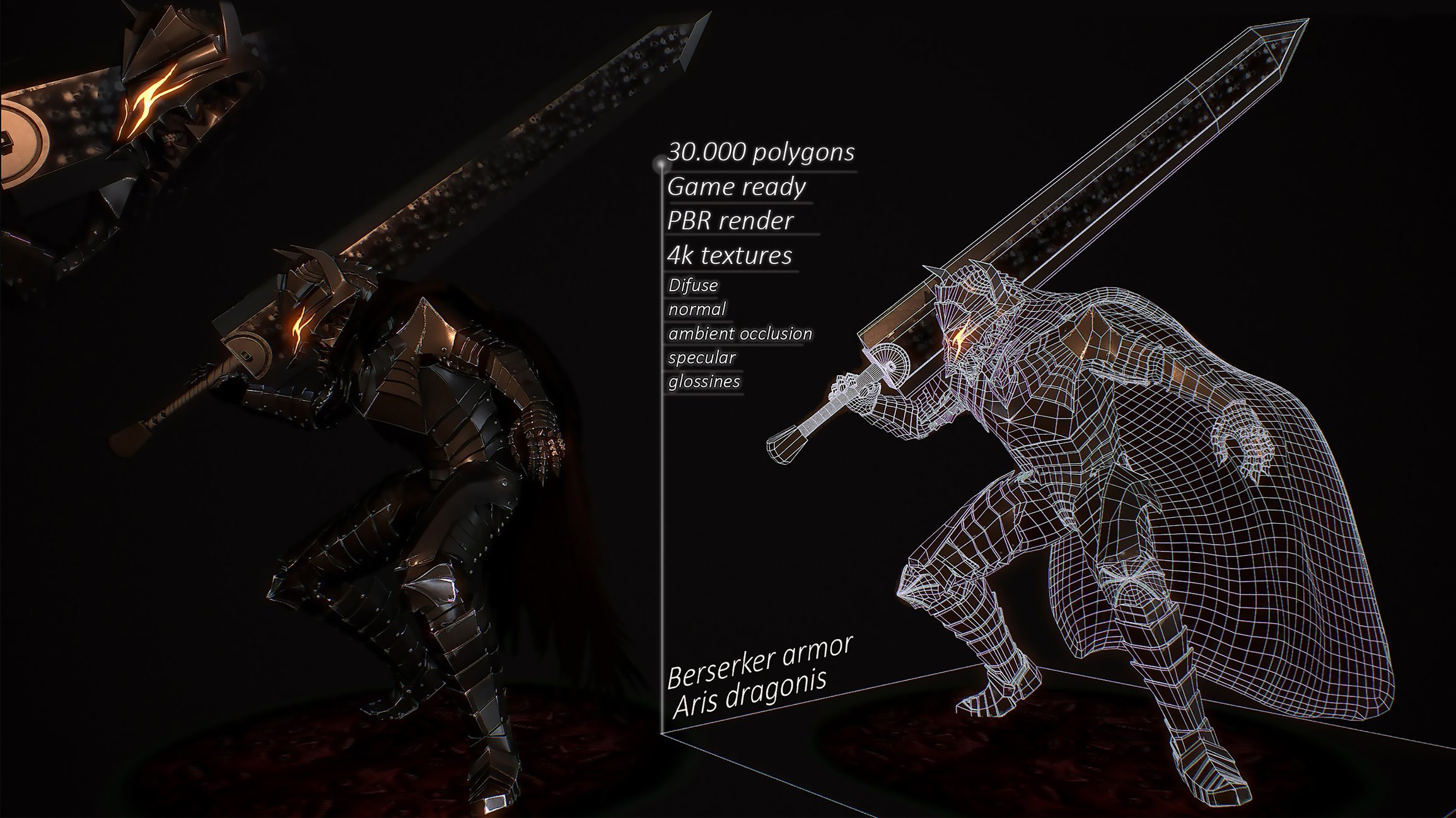 Anime Berserk Berserker Armor Fan Art Polycount