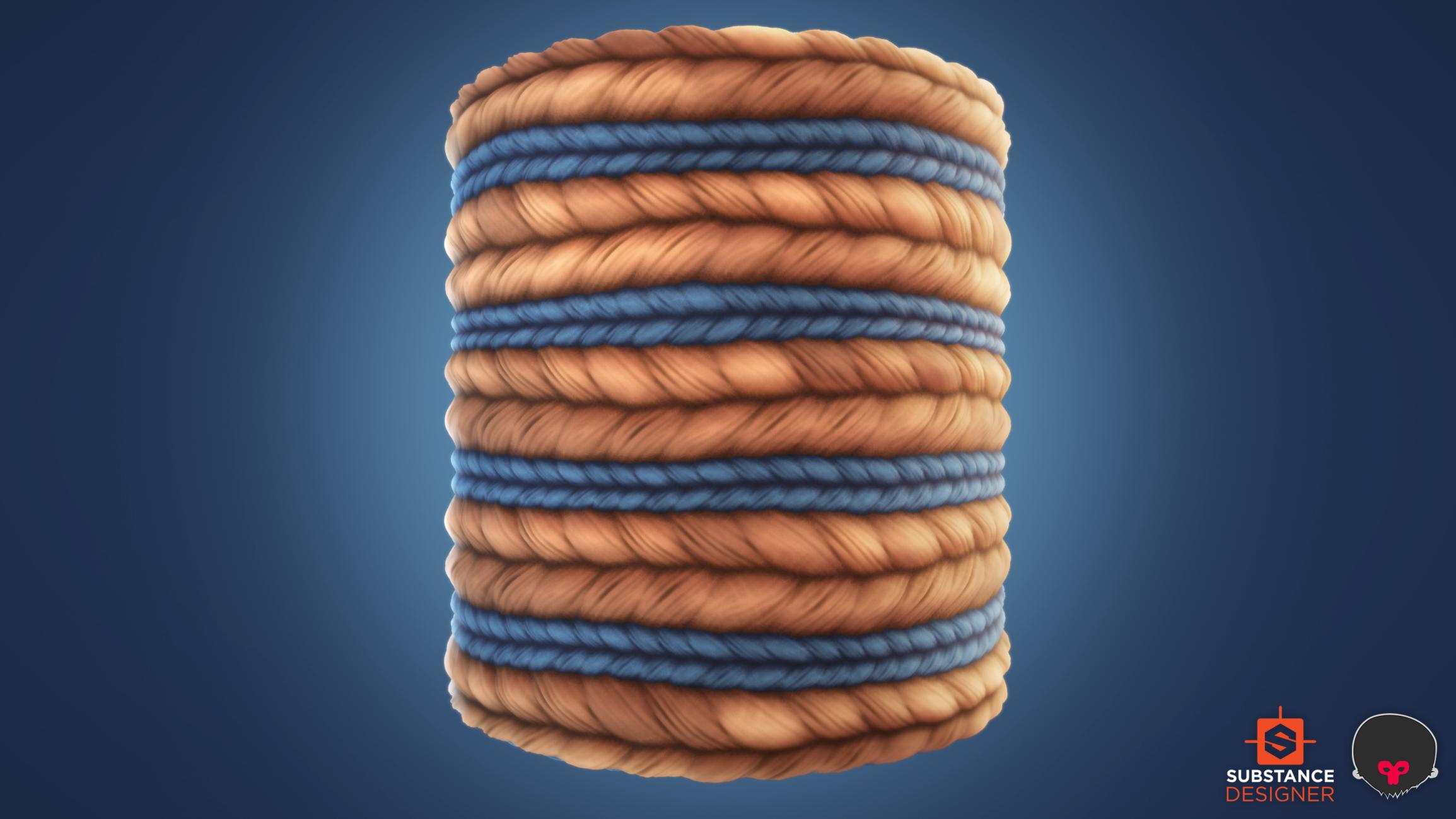 Substance Designer]: Stylized Wool Knit — polycount