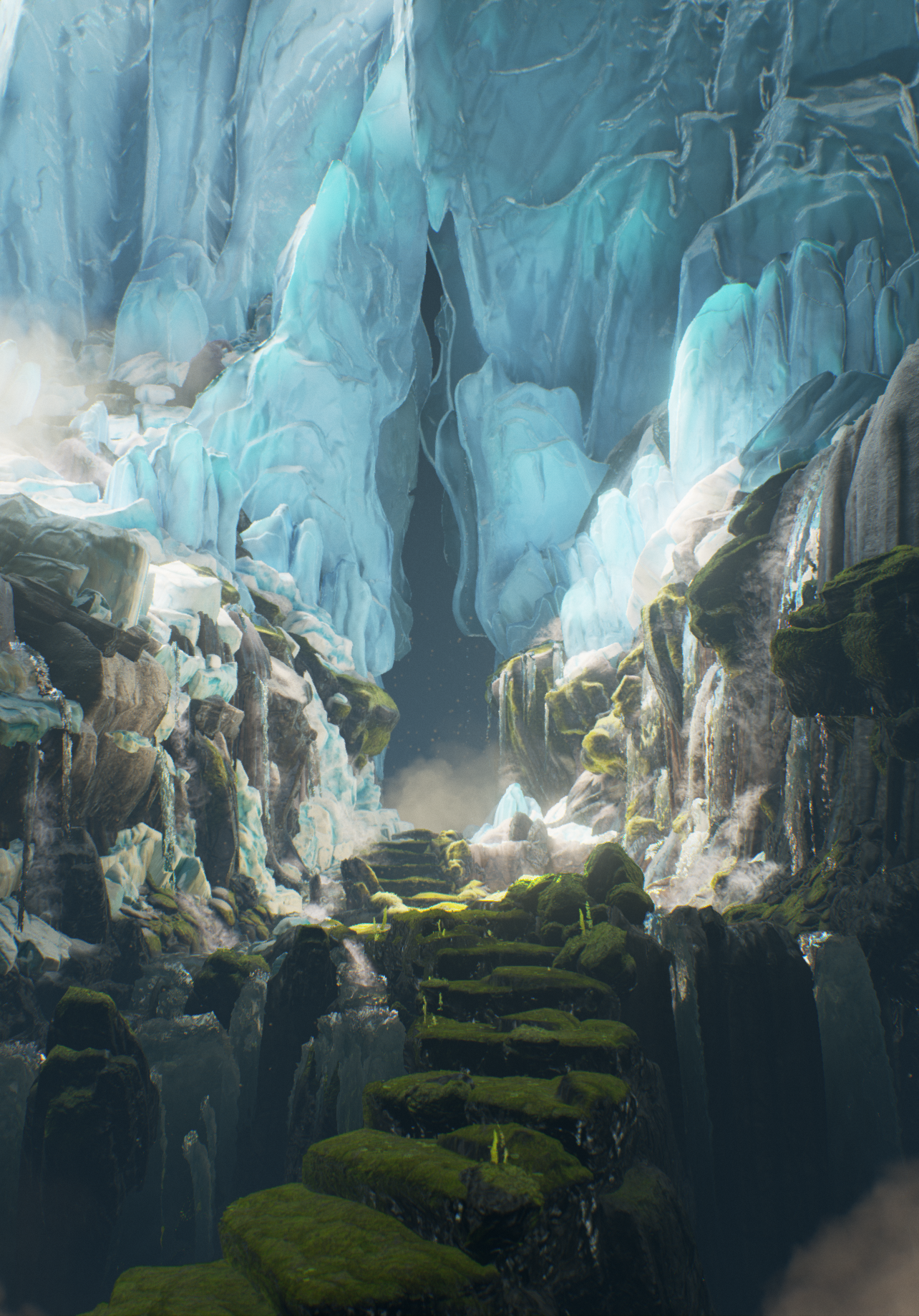UE4] The Frozen Pass — polycount