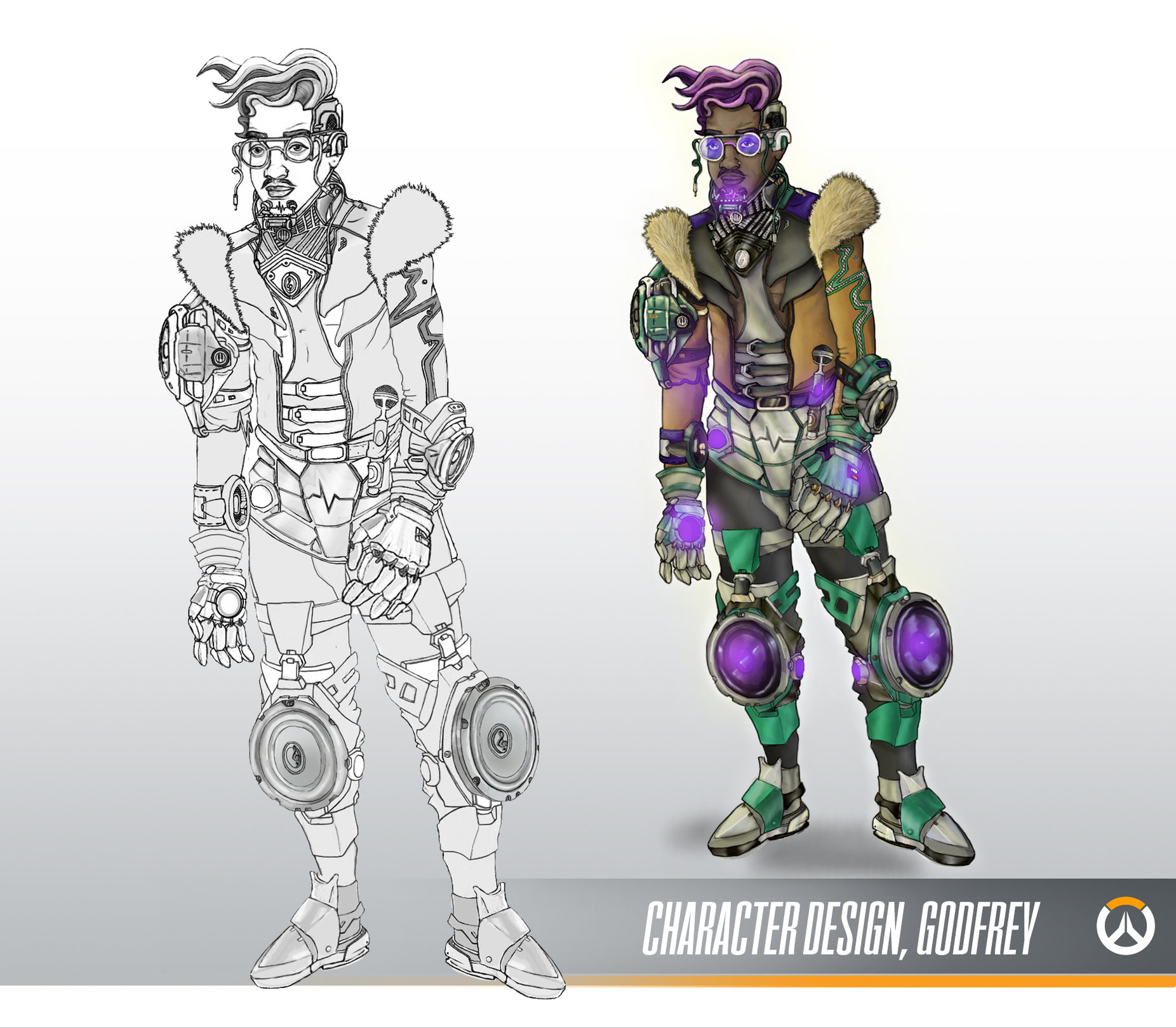 GAME READY CHARACTER DESIGN: Godrey — polycount