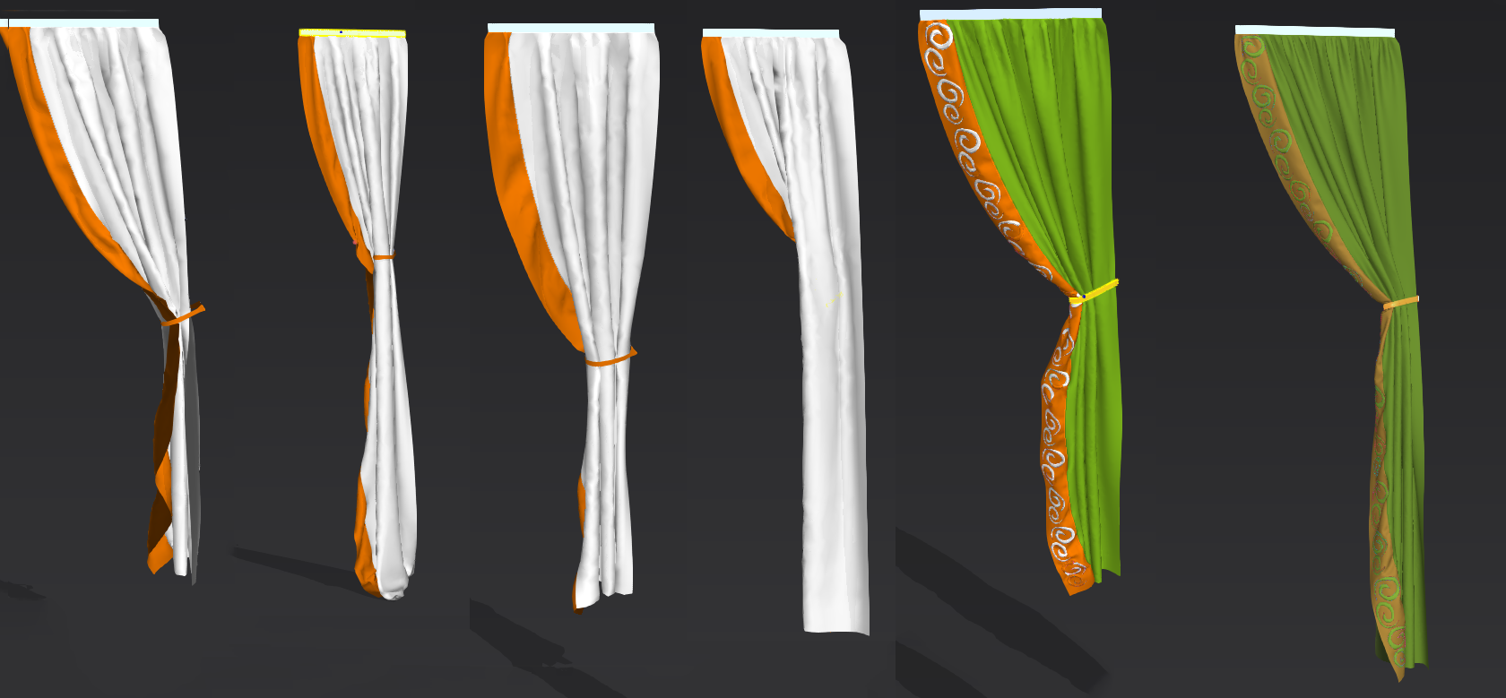 Model curtains maya curtain menzilperde net for Curtain creator software