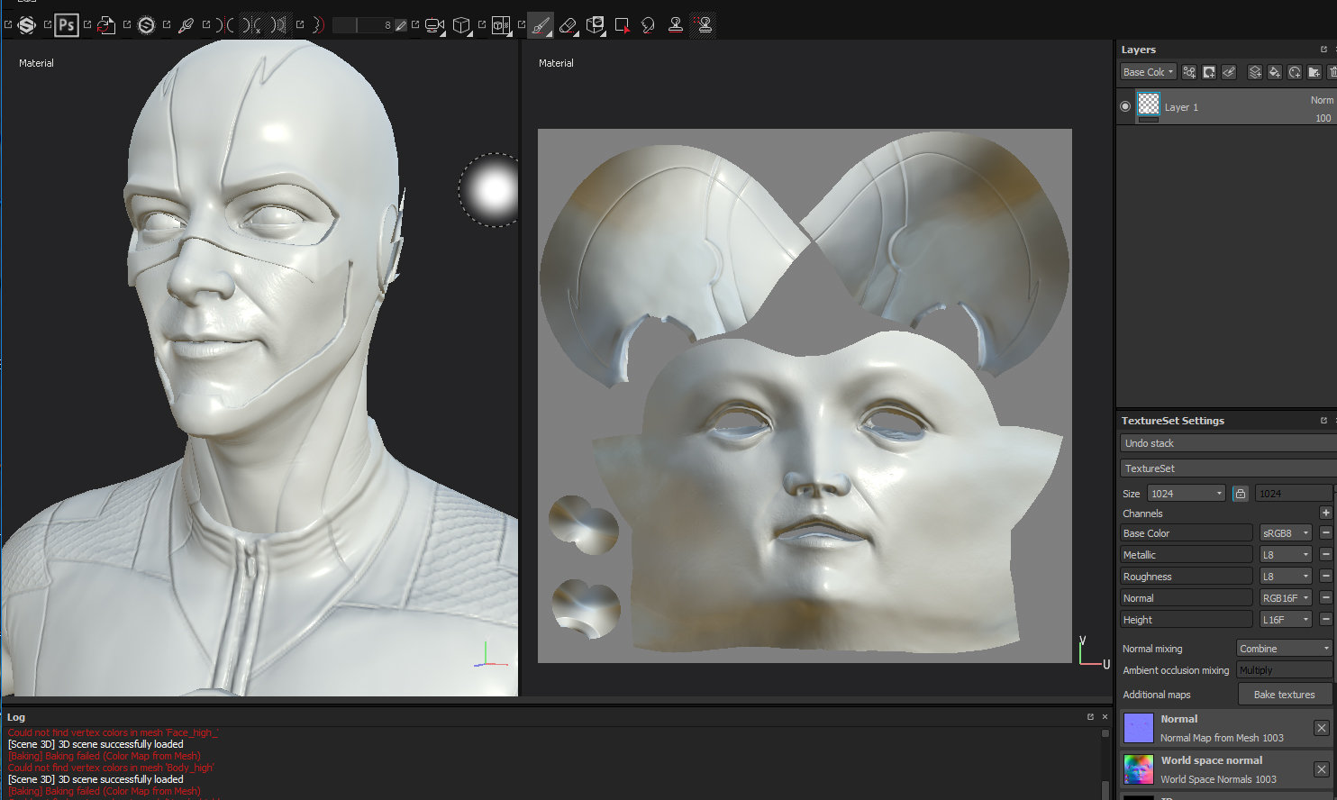 zBrush - export polypaint to vertex color — polycount