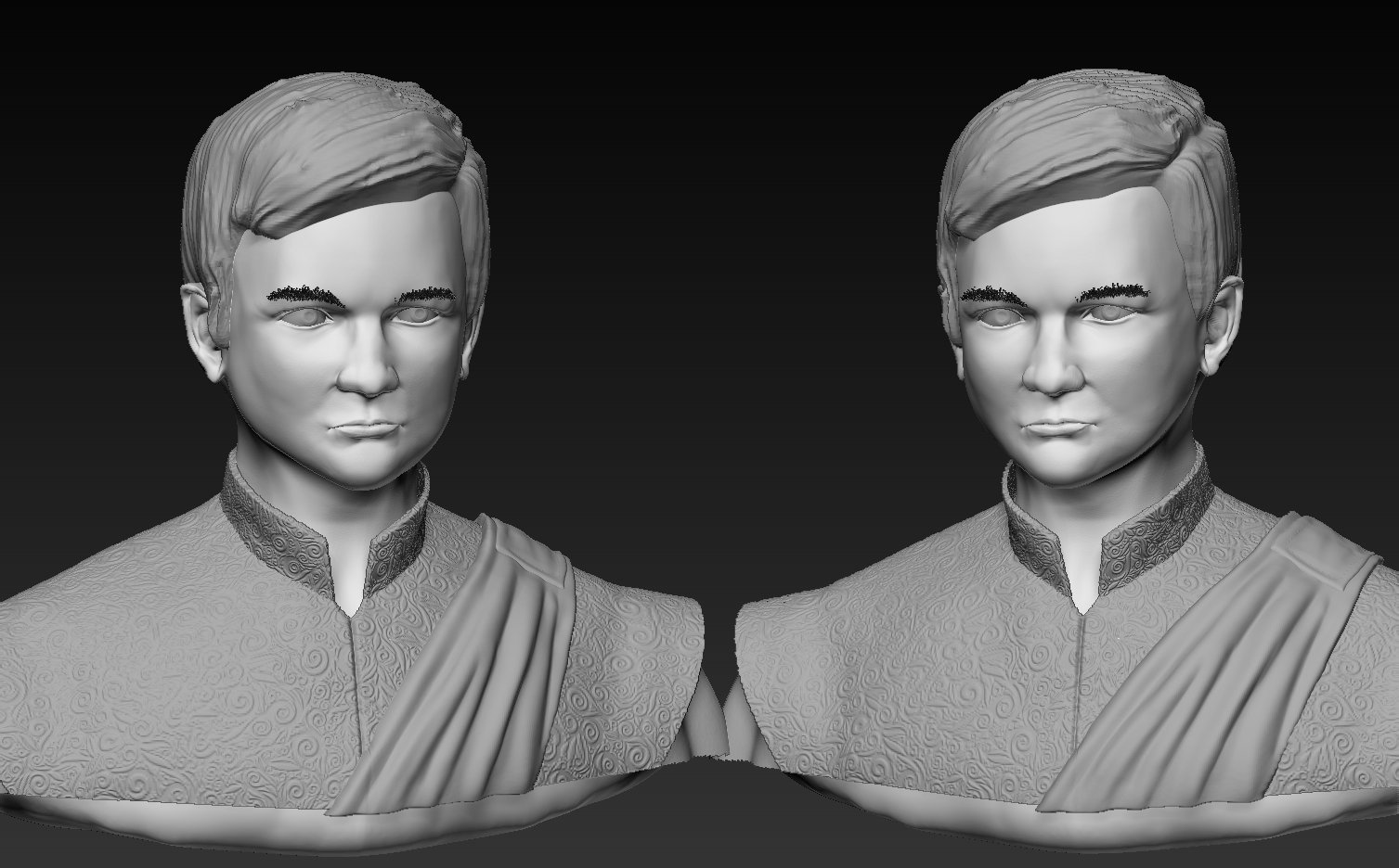 "Jack Gleeson Sculpt AKA ""Geoffrey from Game of thrones ..."