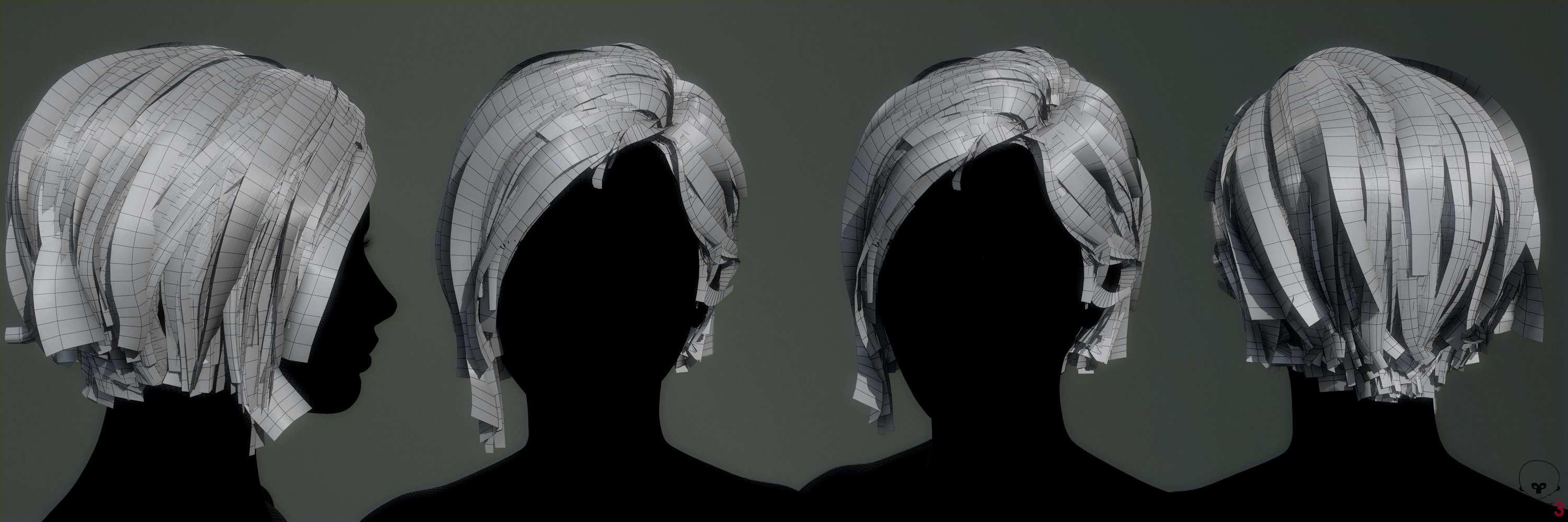 Real Time Hair Tutorial Polycount