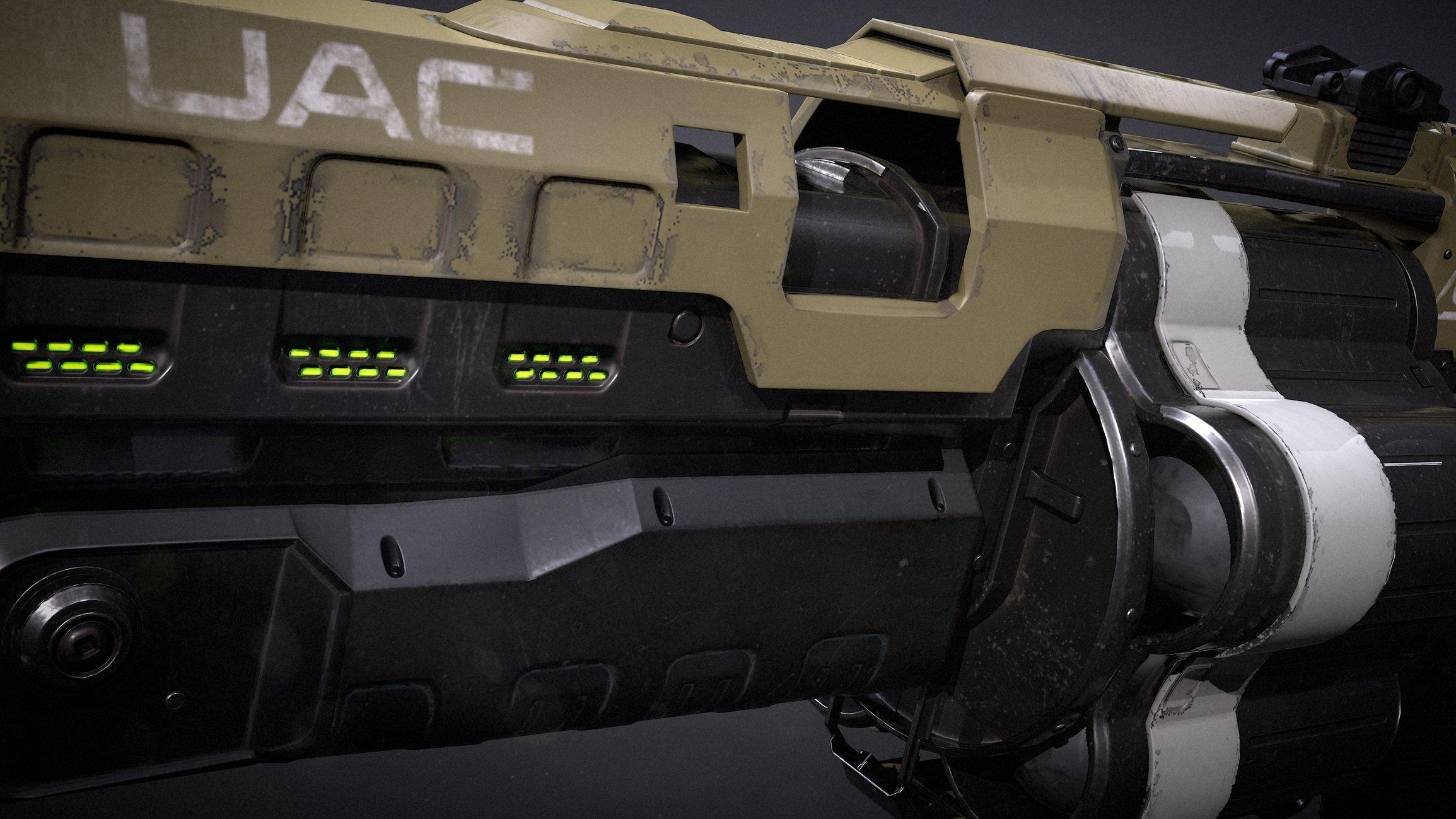 Doom 4 Grenade Launcher Fant Art Polycount - Imagez co