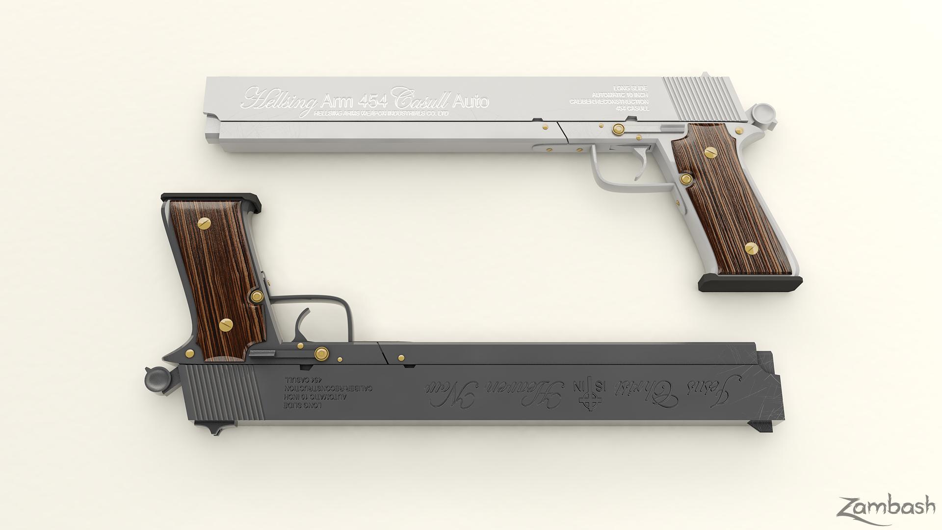 Alucard Guns Hellsing