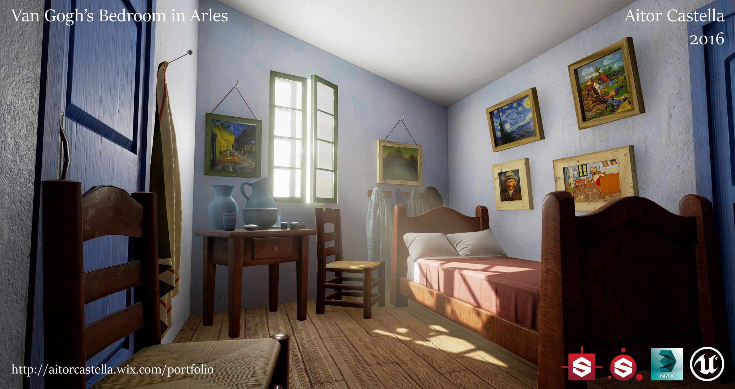 ue4] van gogh's bedroom in arles — polycount