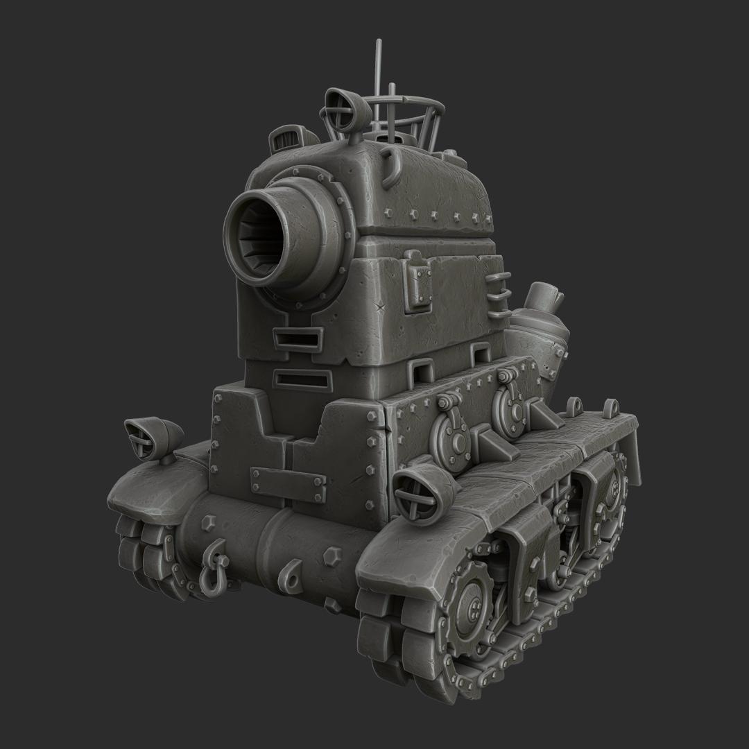 NOP-03 Sarubia Tank — polycount