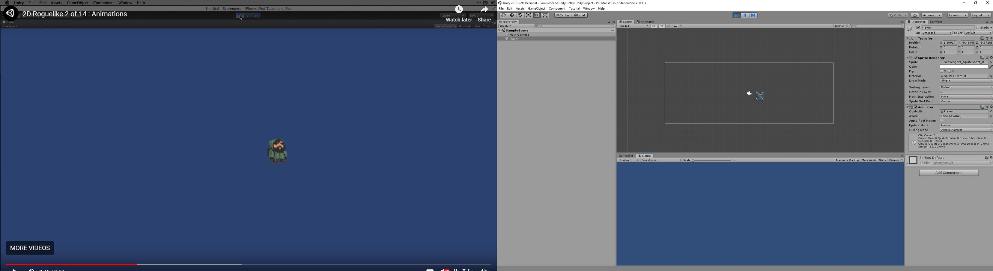 Unity] Can't Get Sprite Animation To Play Using Tutorial — polycount