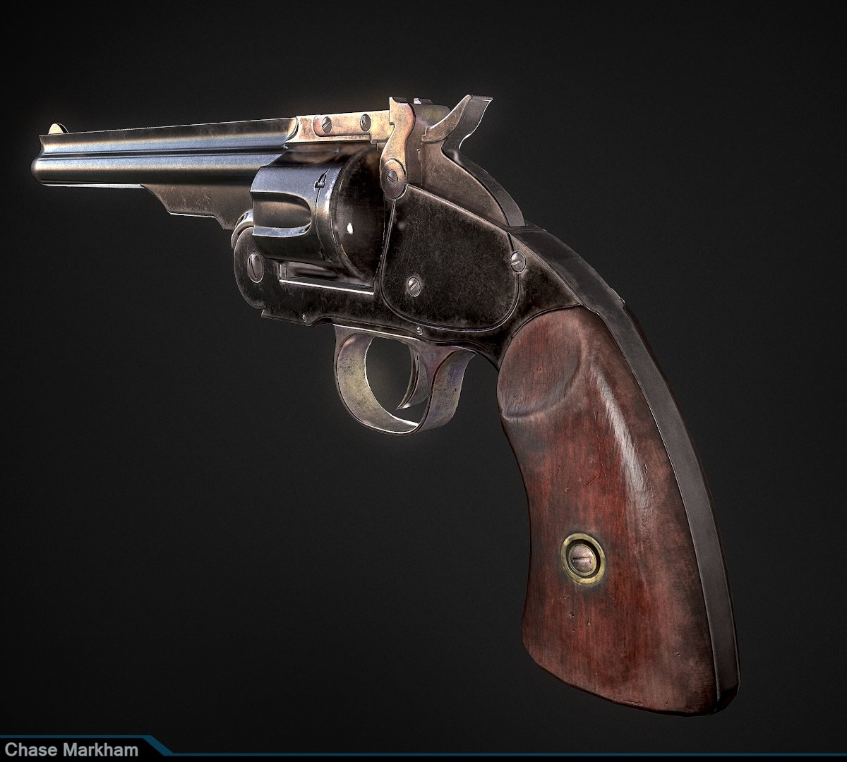 Smith And Wesson Schofield Revolver
