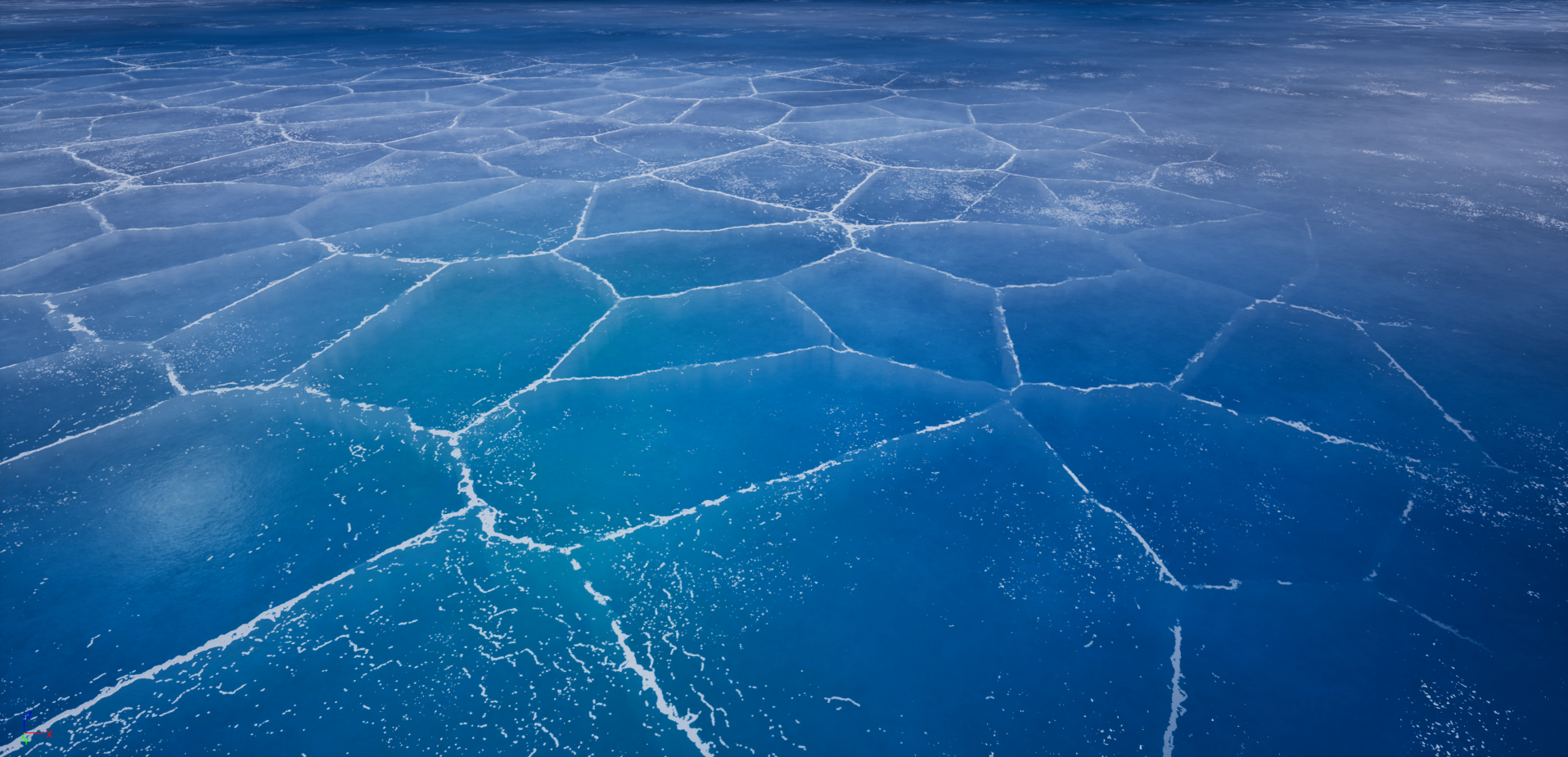 UE4] Been working on an ice shader