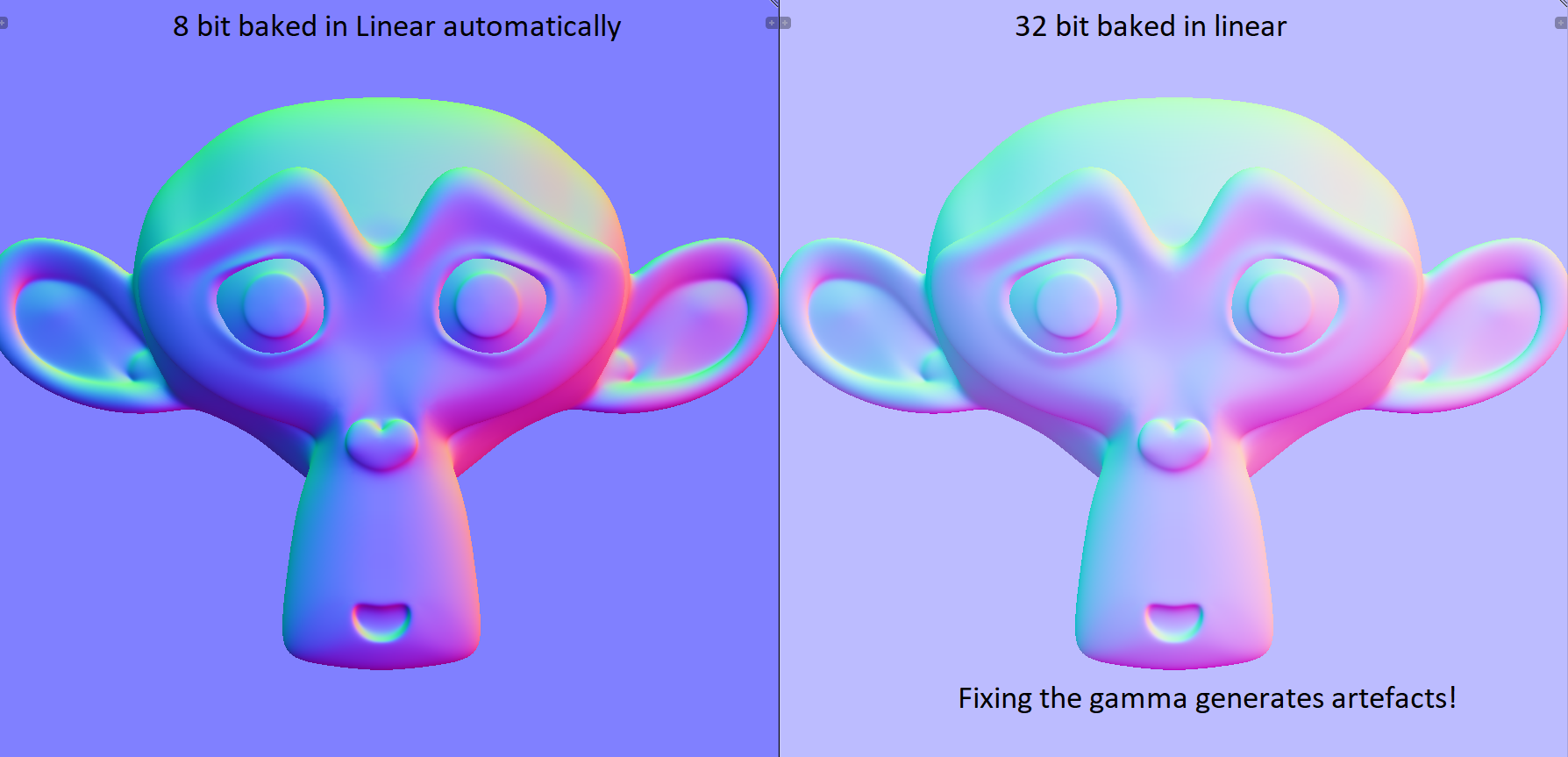 Of Bit Depths, Banding and Normal Maps - Page 3 — polycount