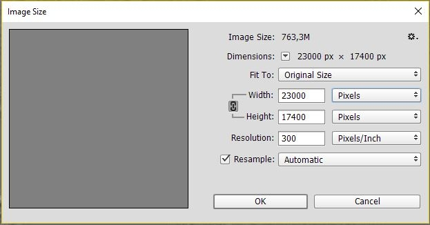 Saving out 4k and 8k from photoshop \u2014 polycount