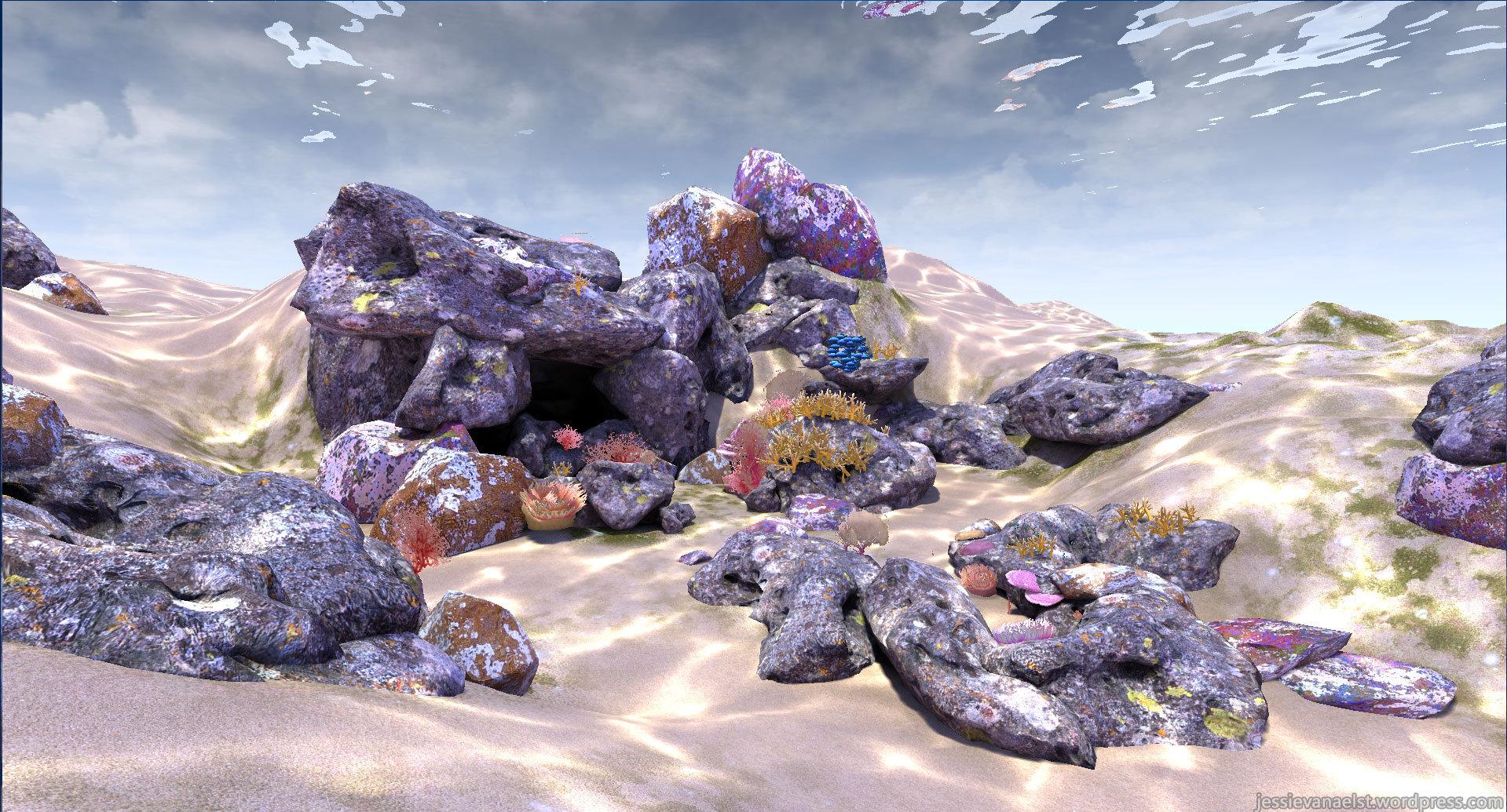 Underwater Scene - Unreal Engine 4 — polycount