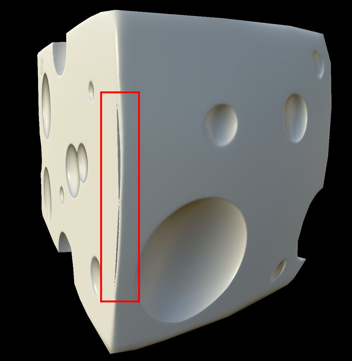 Normal Map Baking - Hard Edge Problem — polycount