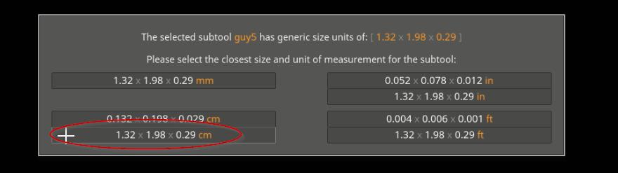 ZBrush: ScaleMaster -> Maya (wrong size after export