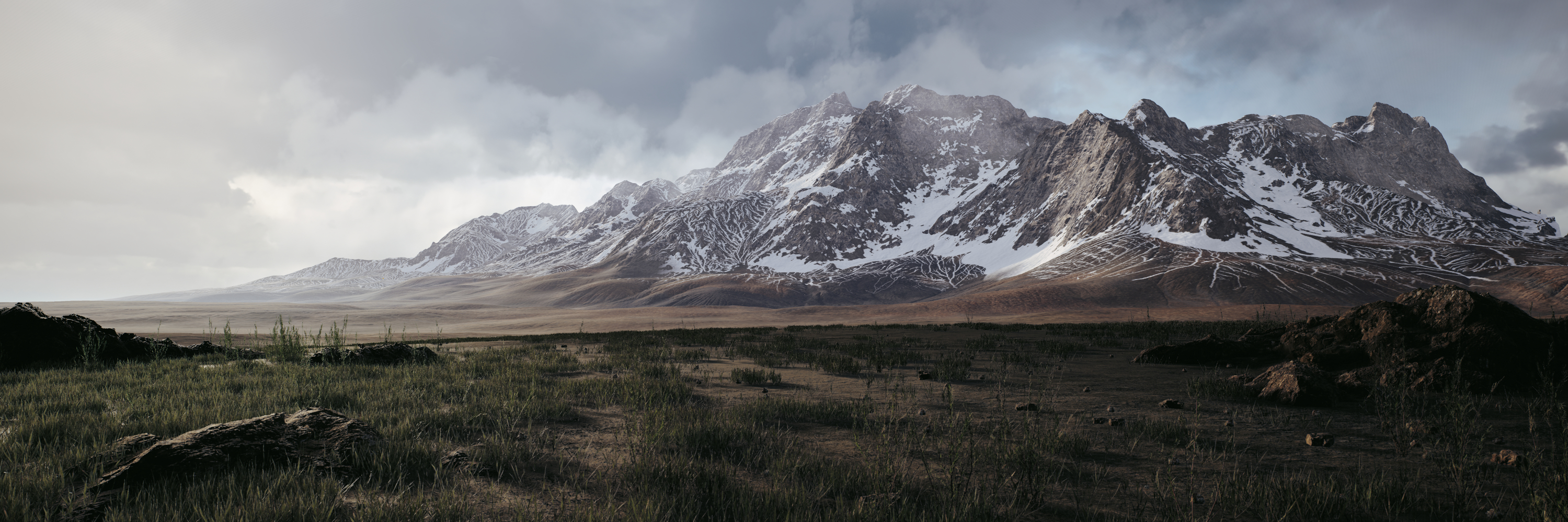 Free Unreal Engine 4 Landscape Shader Polycount
