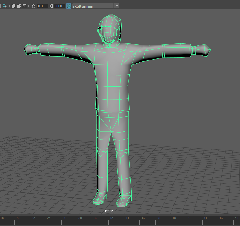 Low Poly Character Topology Critique Needed (For Rigging & UE4/Unity
