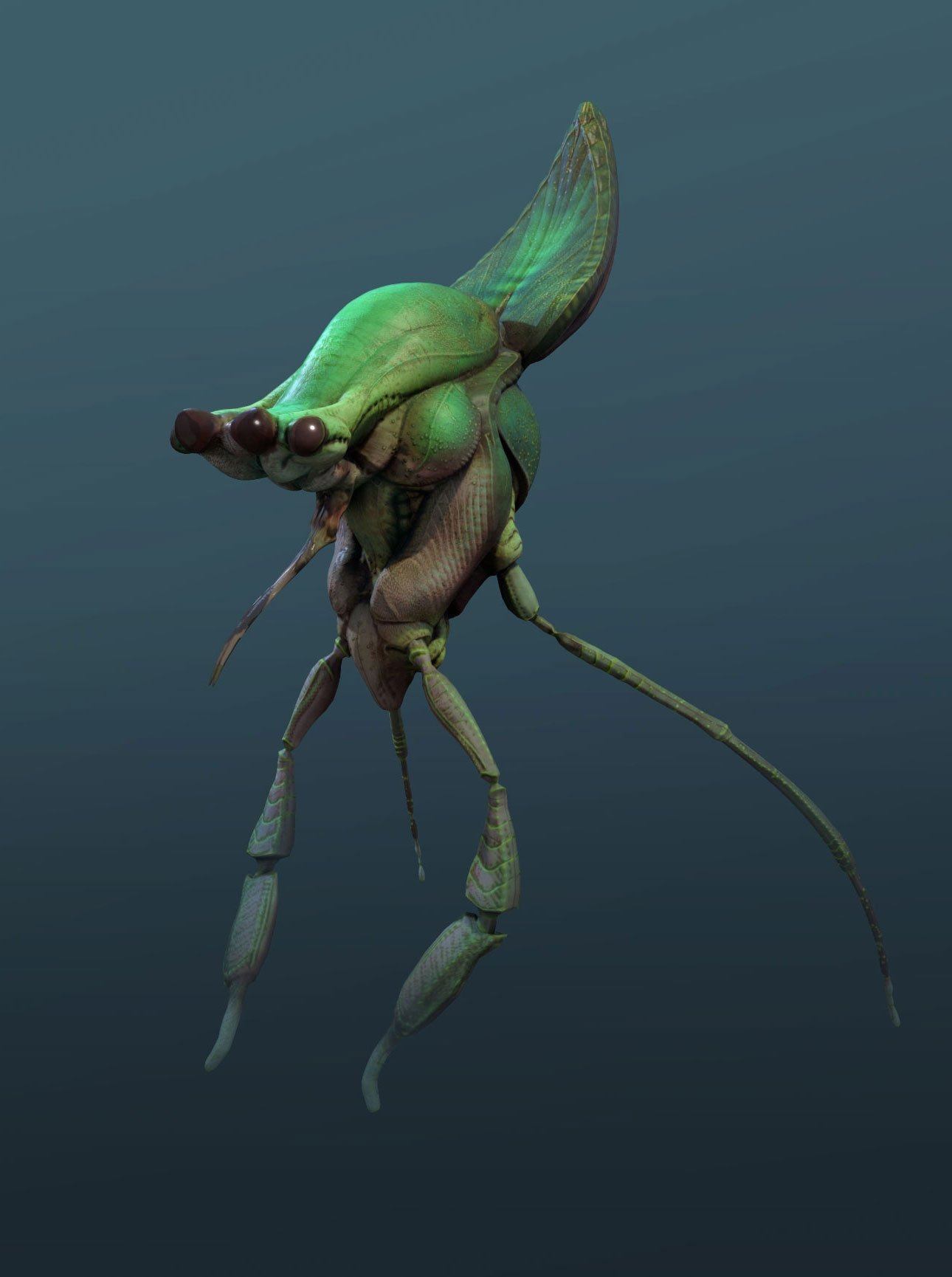 Alien Critter Study 02 — polycount