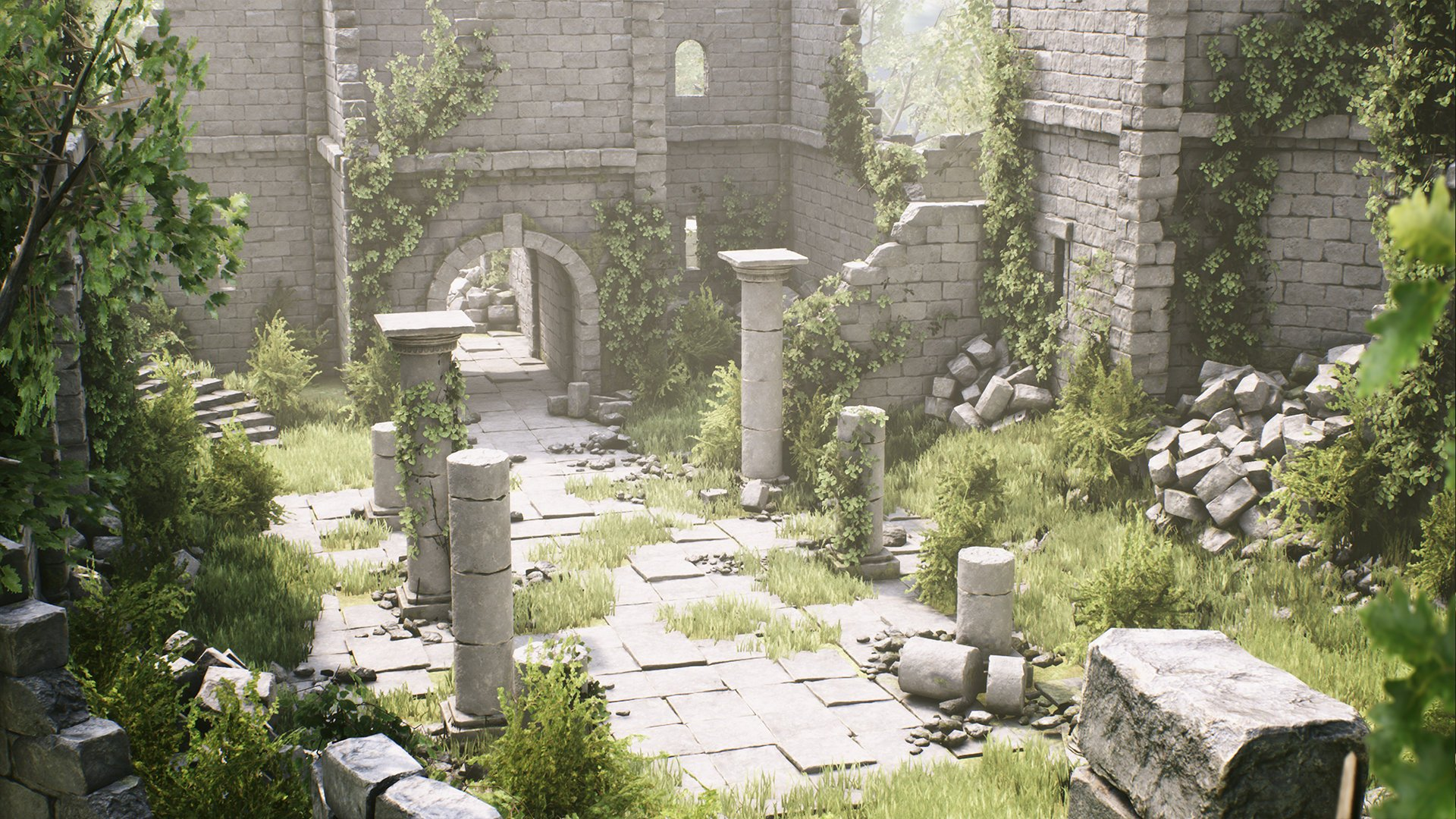 RELEASED] [UE4] Ancient Ruins Pack — polycount