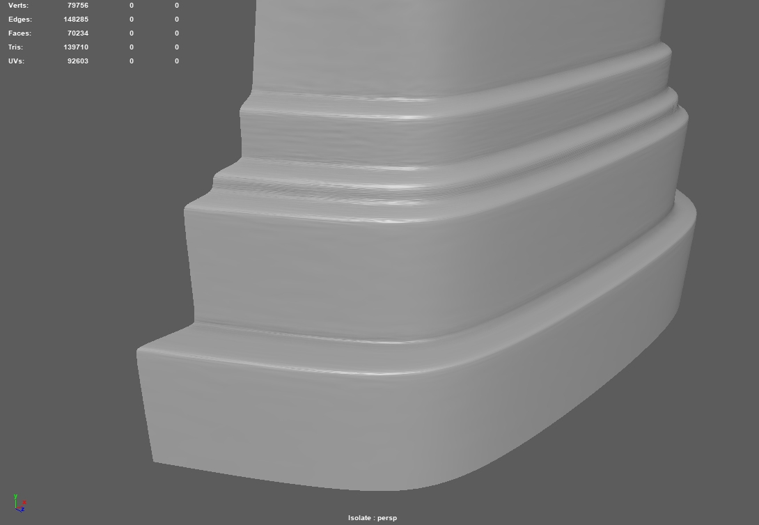 SOLVED [Maya2018] Smoothing mesh problem — polycount