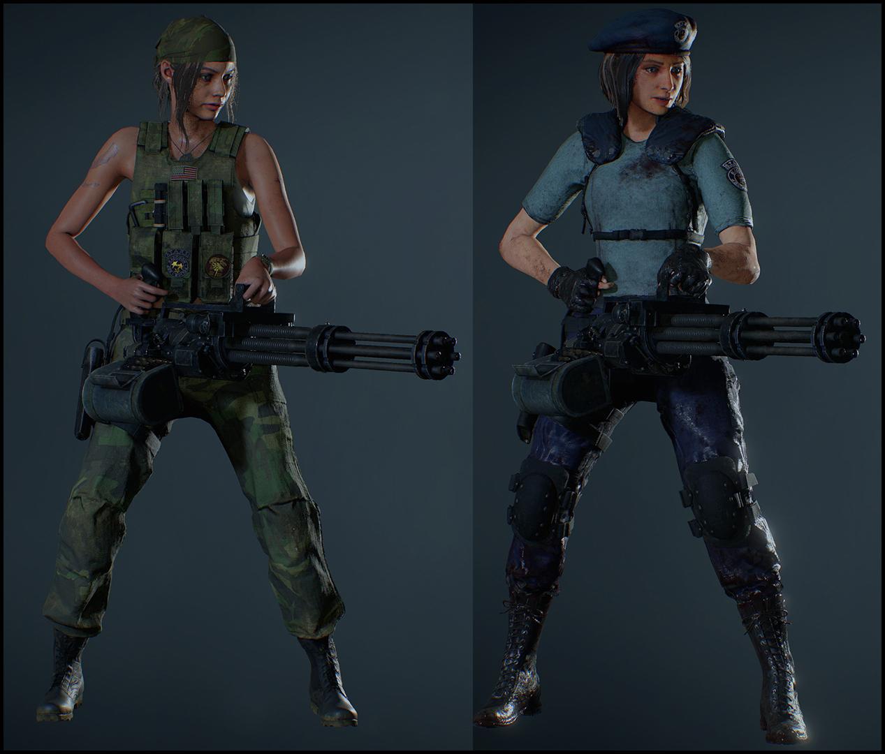Jill Valentine 2 (Resident Evil 3 Remake) by