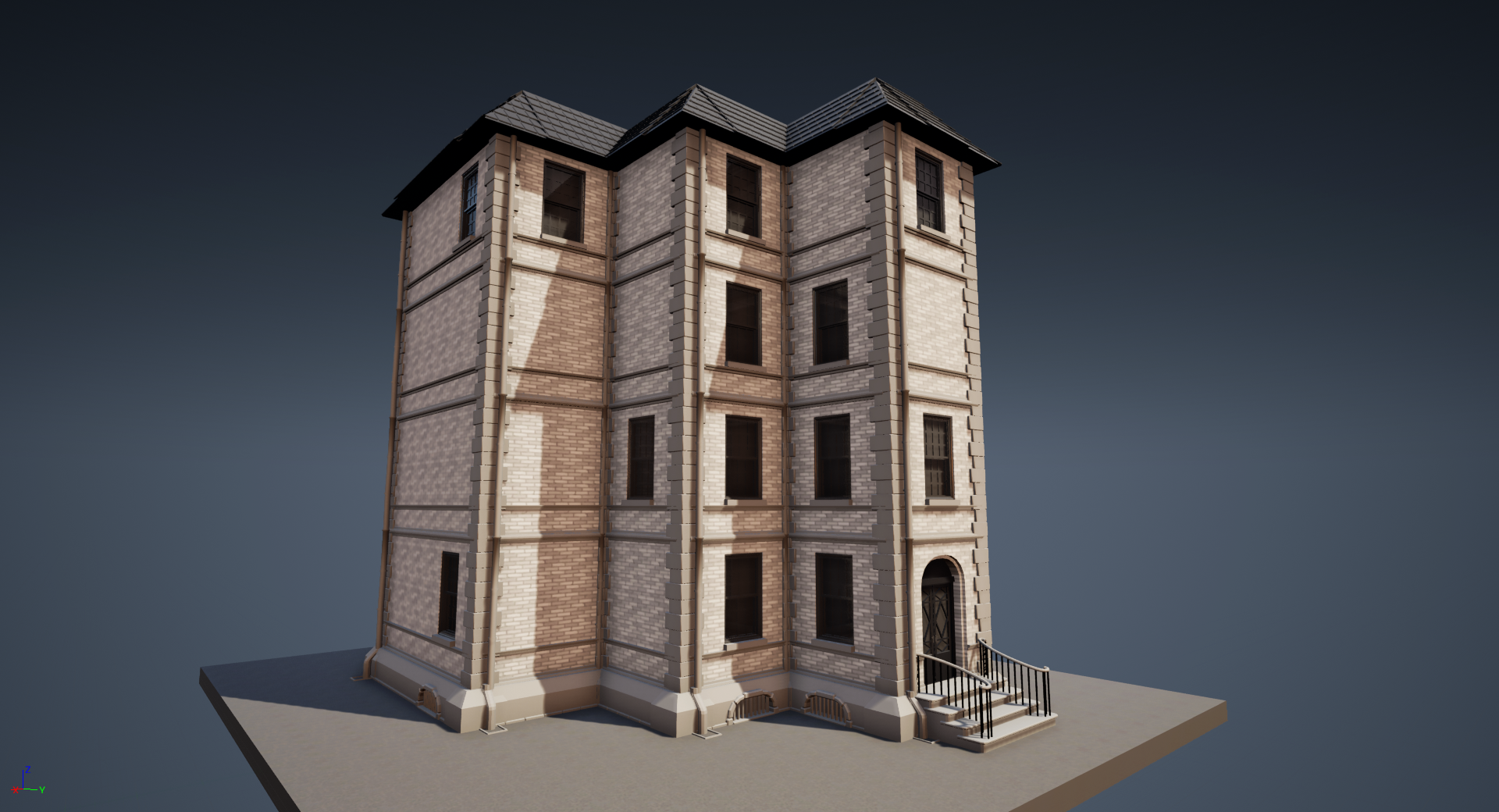 WIP][UE4] House generation with Houdini — polycount