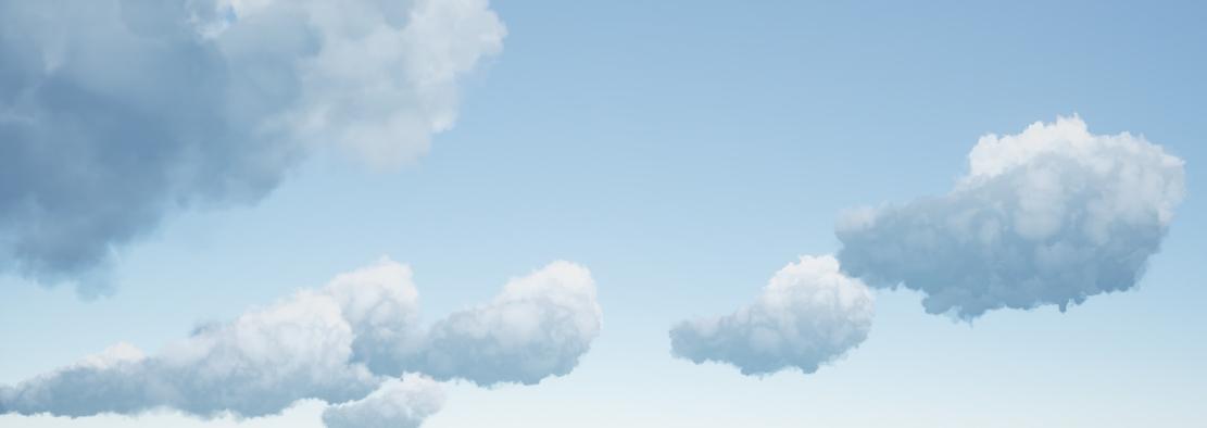 UE4] Volumetric Cloud System — polycount
