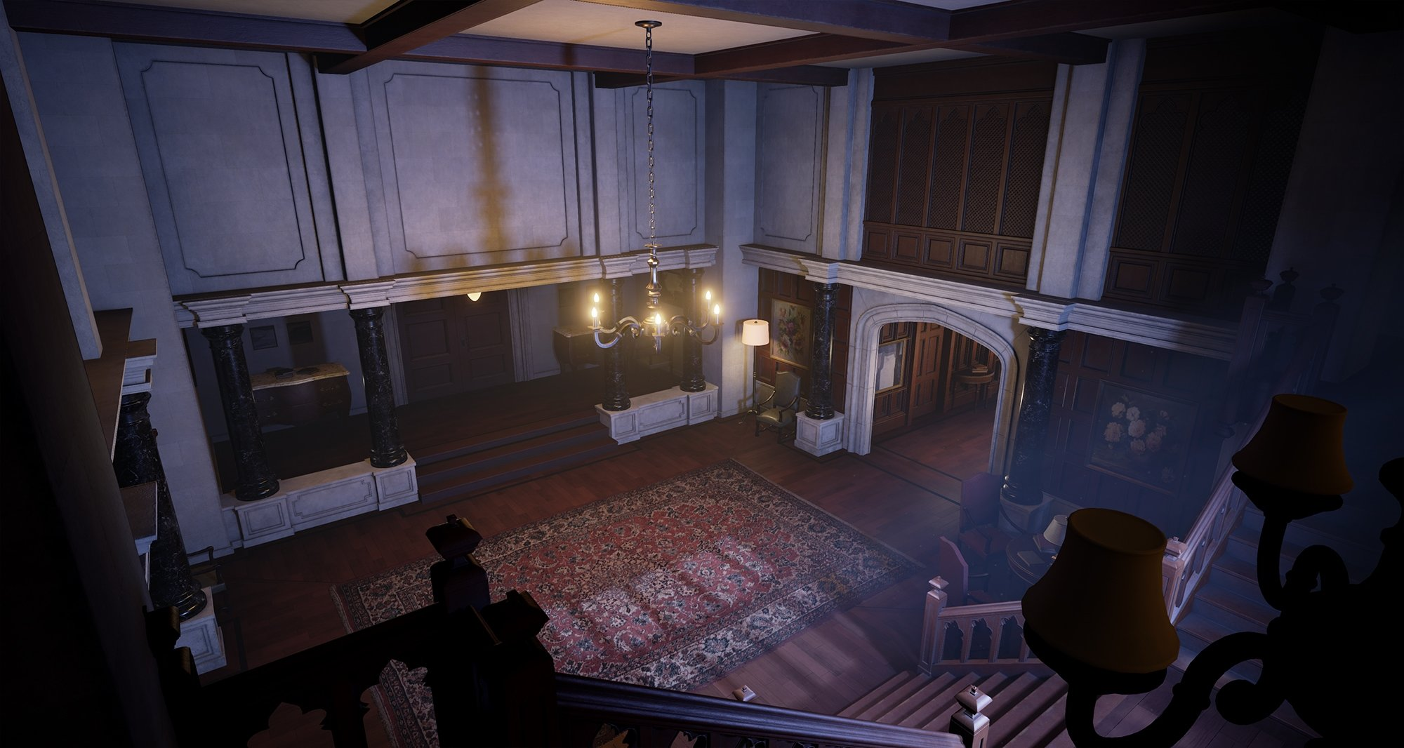 X-Mansion - Unreal Engine 4 — polycount
