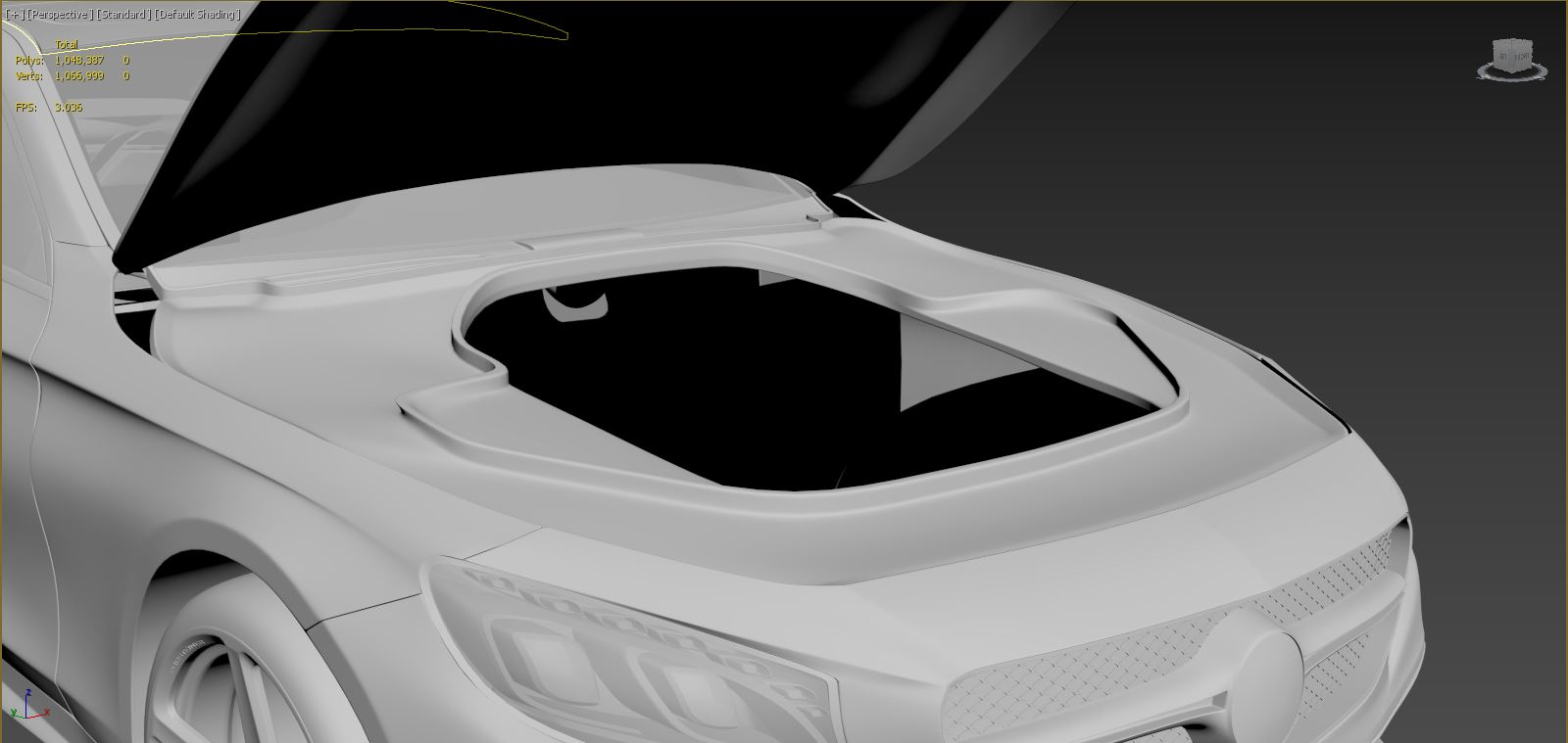 Are Automotive Designers For Popular Vehicle Manufactures Making Cars More Difficult To Model Polycount