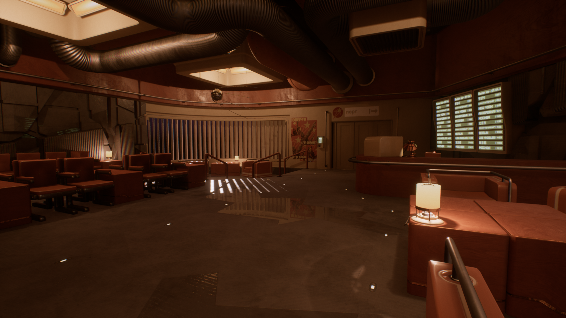 Game Environment Design Project Spaceport Departure