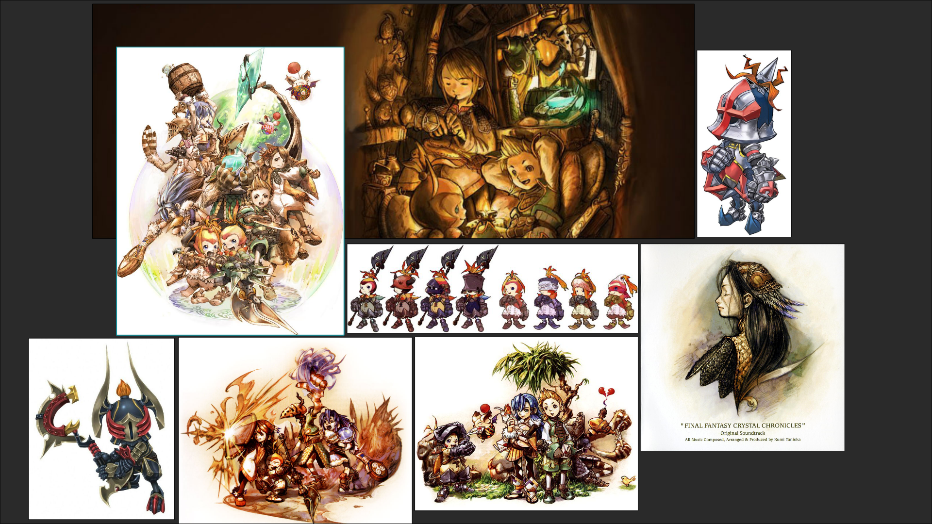 Final Fantasy Crystal Chronicles Fan Art Polycount