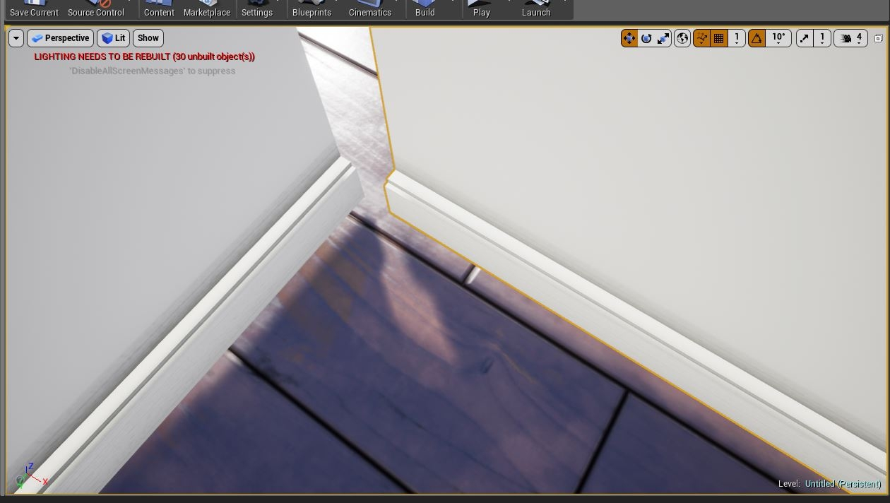 UE4 Snapping problem - Vertex snapping — polycount