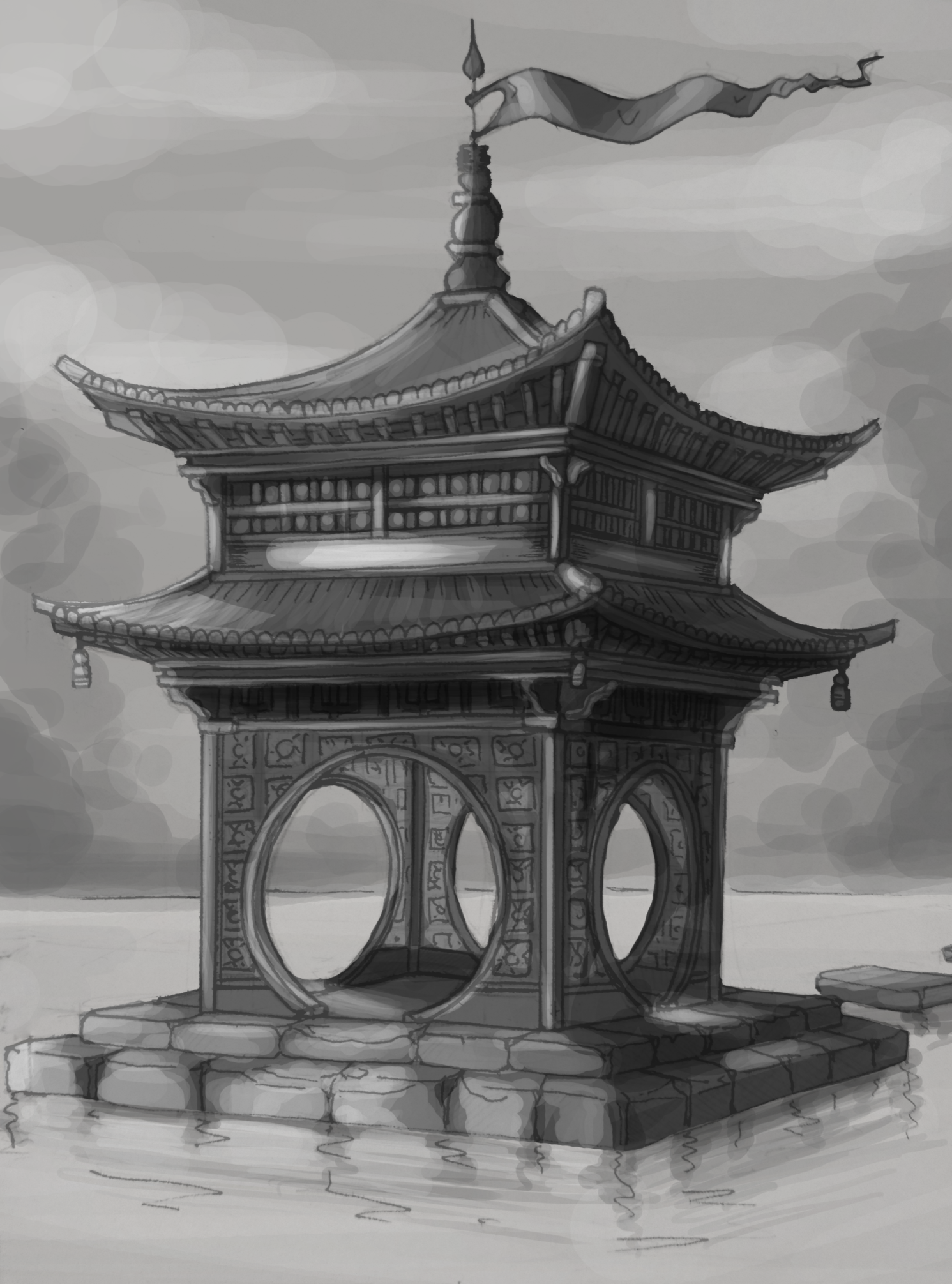 Learning To Draw Buildings And Perspective With Asian Architecture