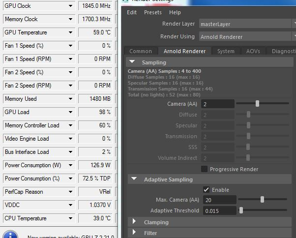 Arnold GPU rendering issue — polycount