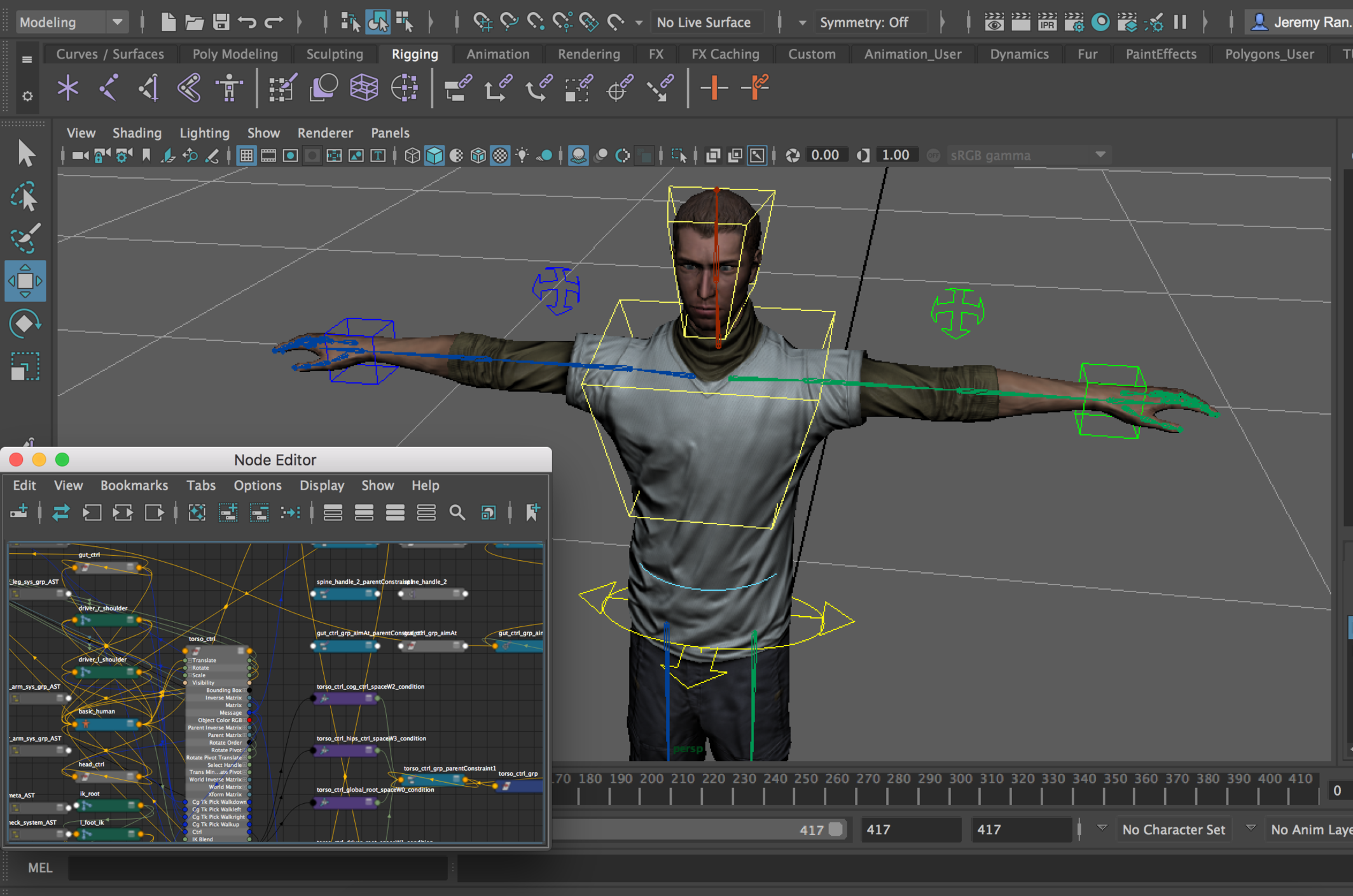 rigging in maya coming from max — polycount